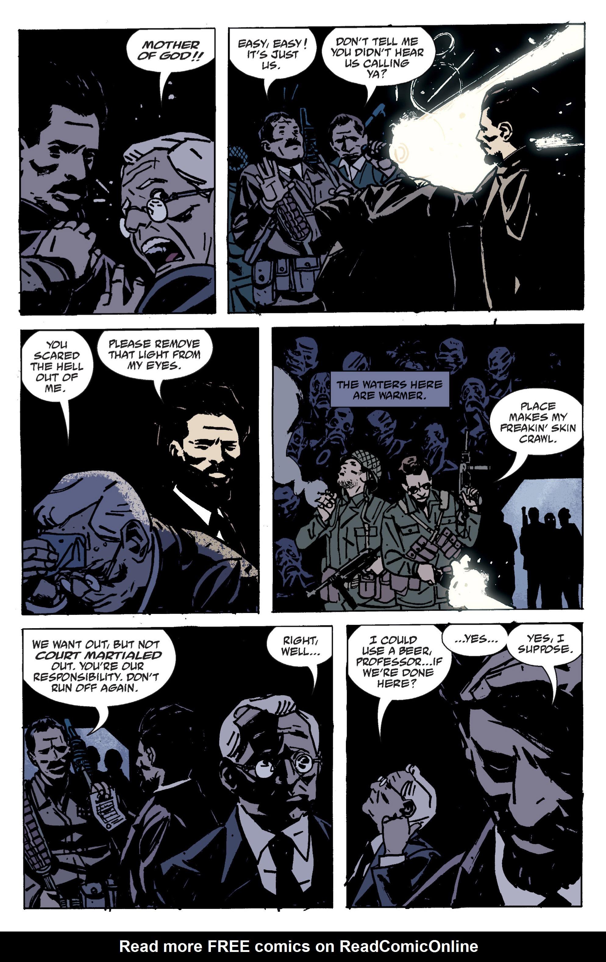 Read online B.P.R.D. (2003) comic -  Issue # TPB 9 - 35