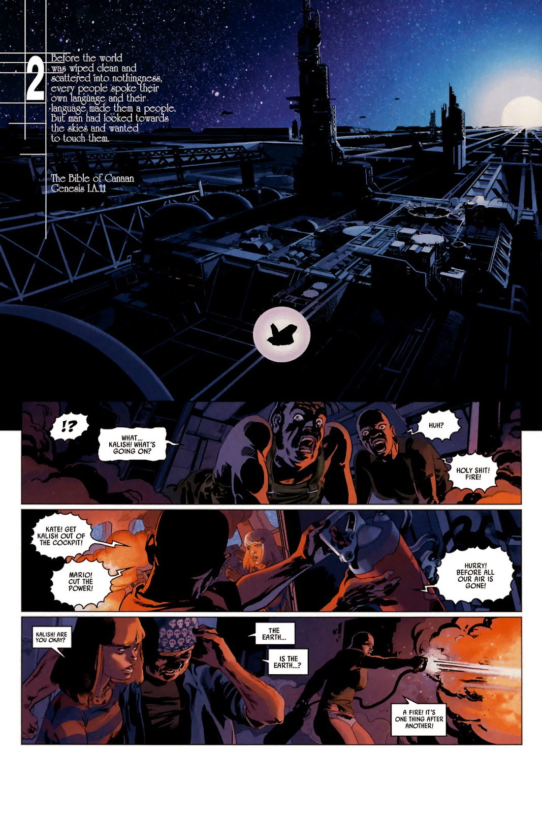 Read online Universal War One: Revelations comic -  Issue #2 - 15