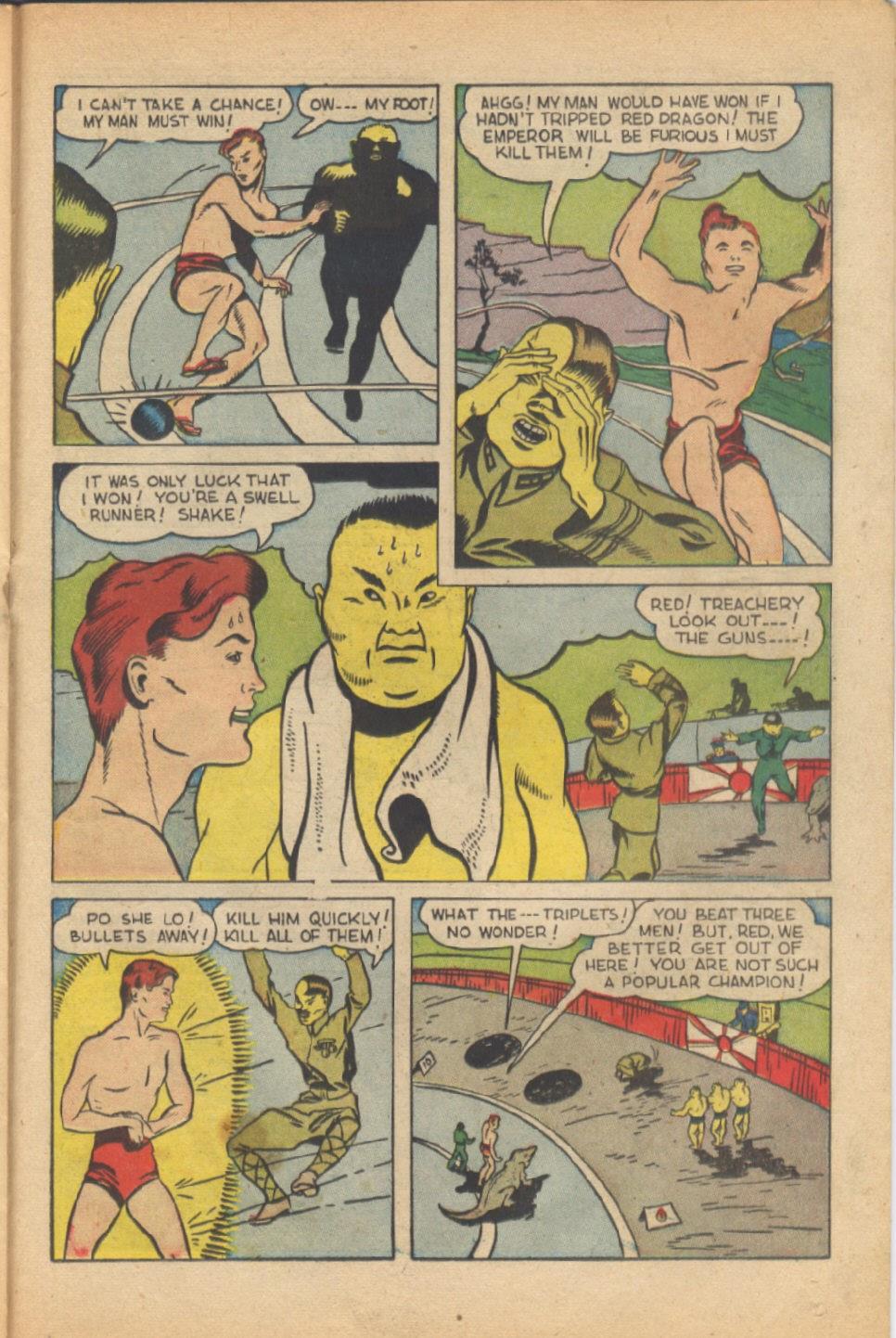 Read online Super-Magician Comics comic -  Issue #37 - 30