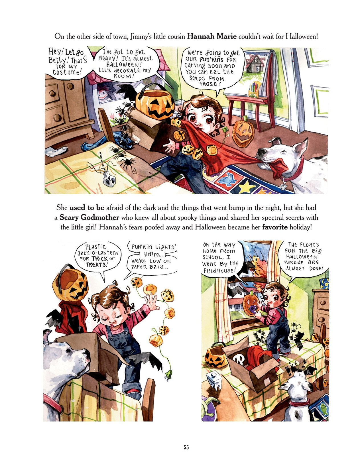 Read online Scary Godmother comic -  Issue # TPB - 55