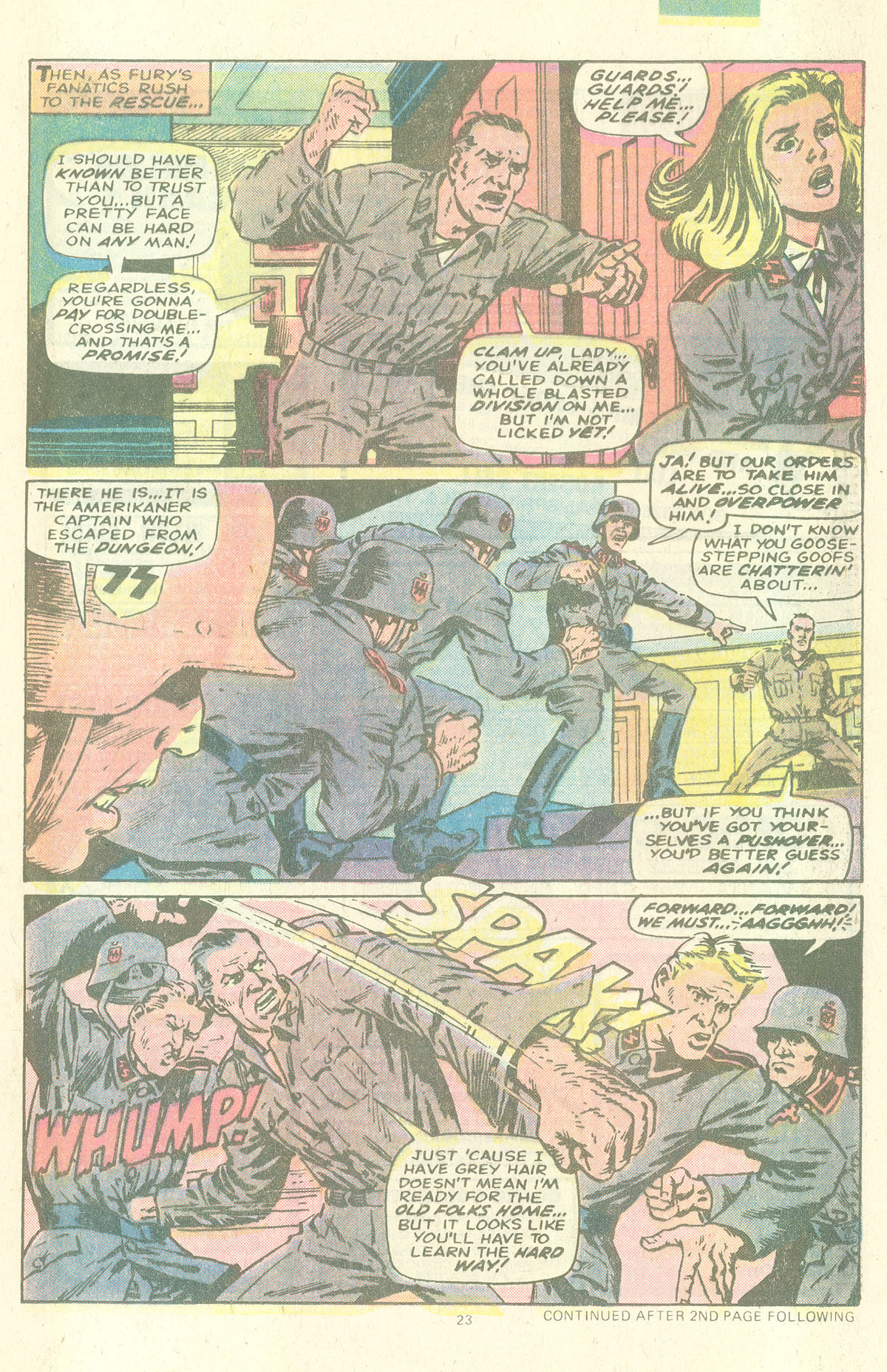 Read online Sgt. Fury comic -  Issue #157 - 25