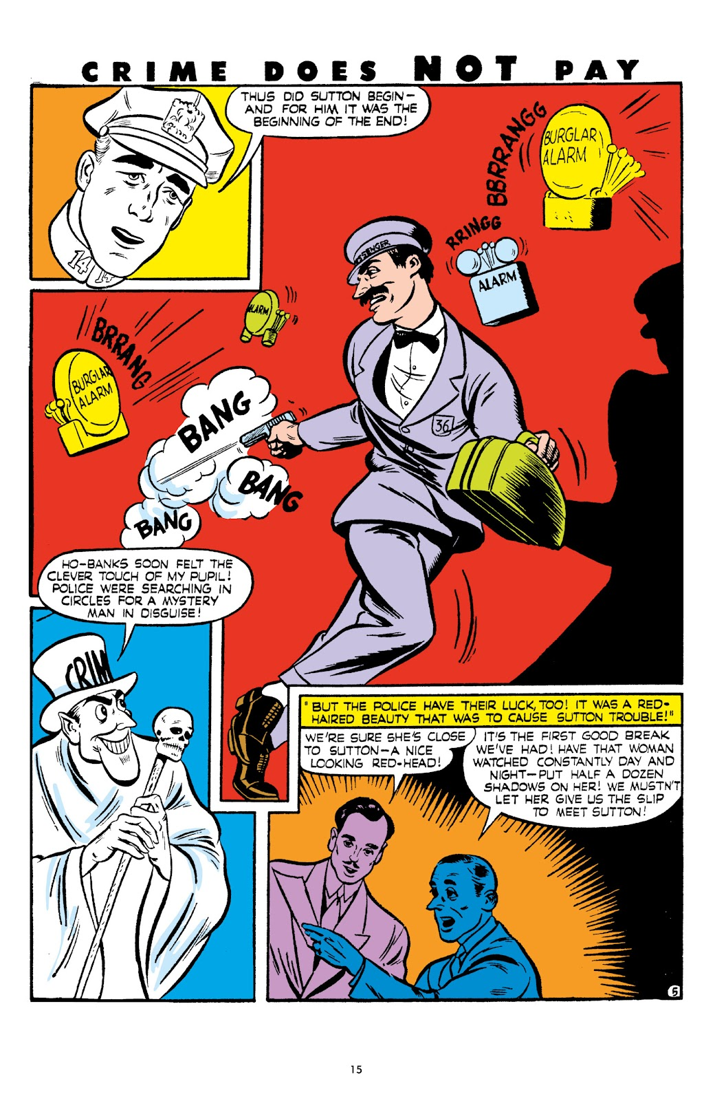 Read online Crime Does Not Pay Archives comic -  Issue # TPB 6 (Part 1) - 17