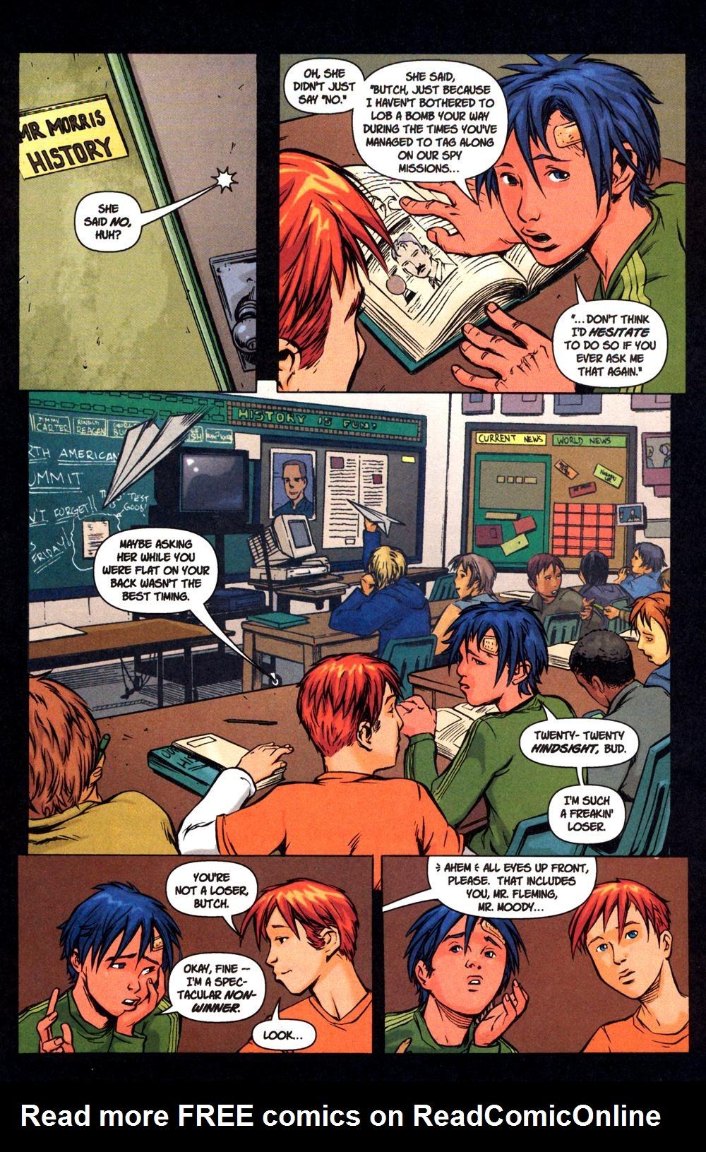 Read online SpyBoy: Final Exam comic -  Issue #1 - 23