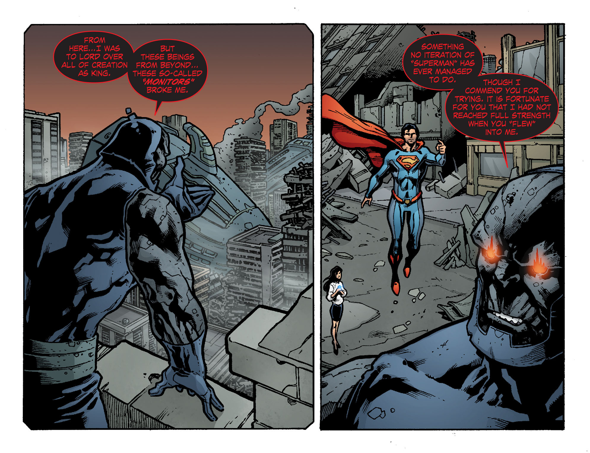 Read online Smallville: Chaos [II] comic -  Issue #8 - 14