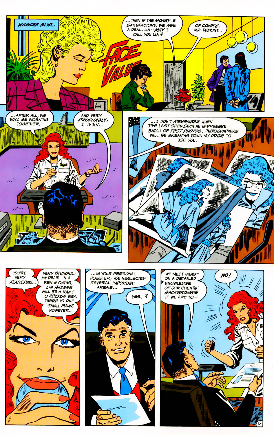 Read online Adventures of the Outsiders comic -  Issue #41 - 6