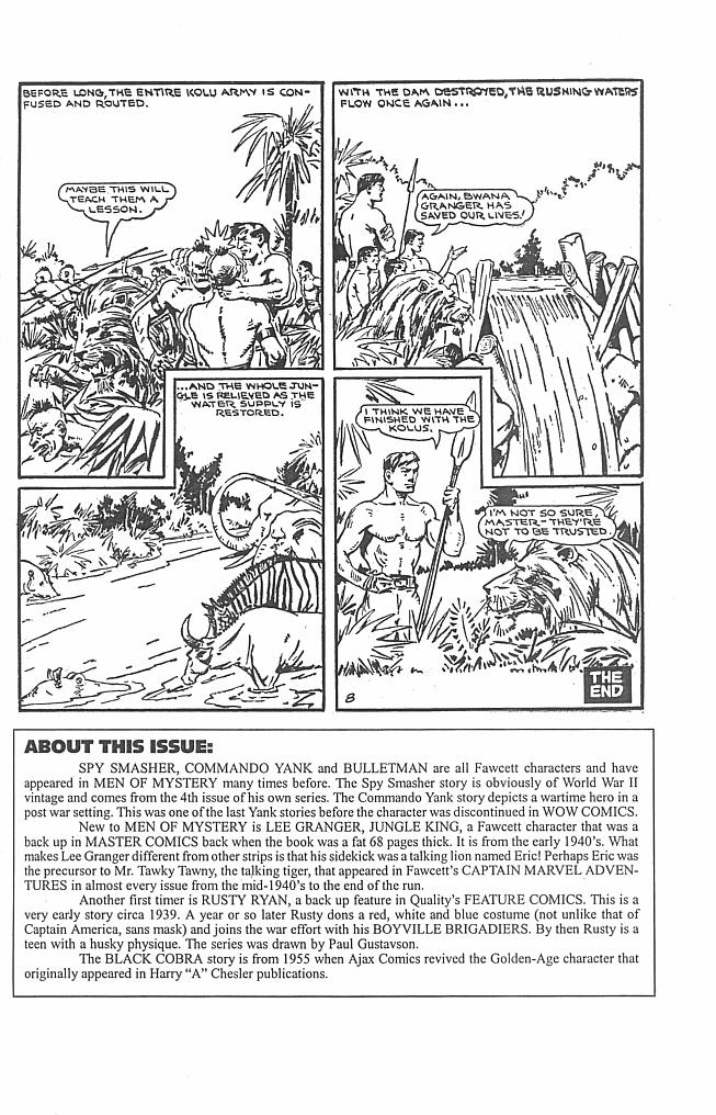 Read online Men of Mystery Comics comic -  Issue #38 - 43