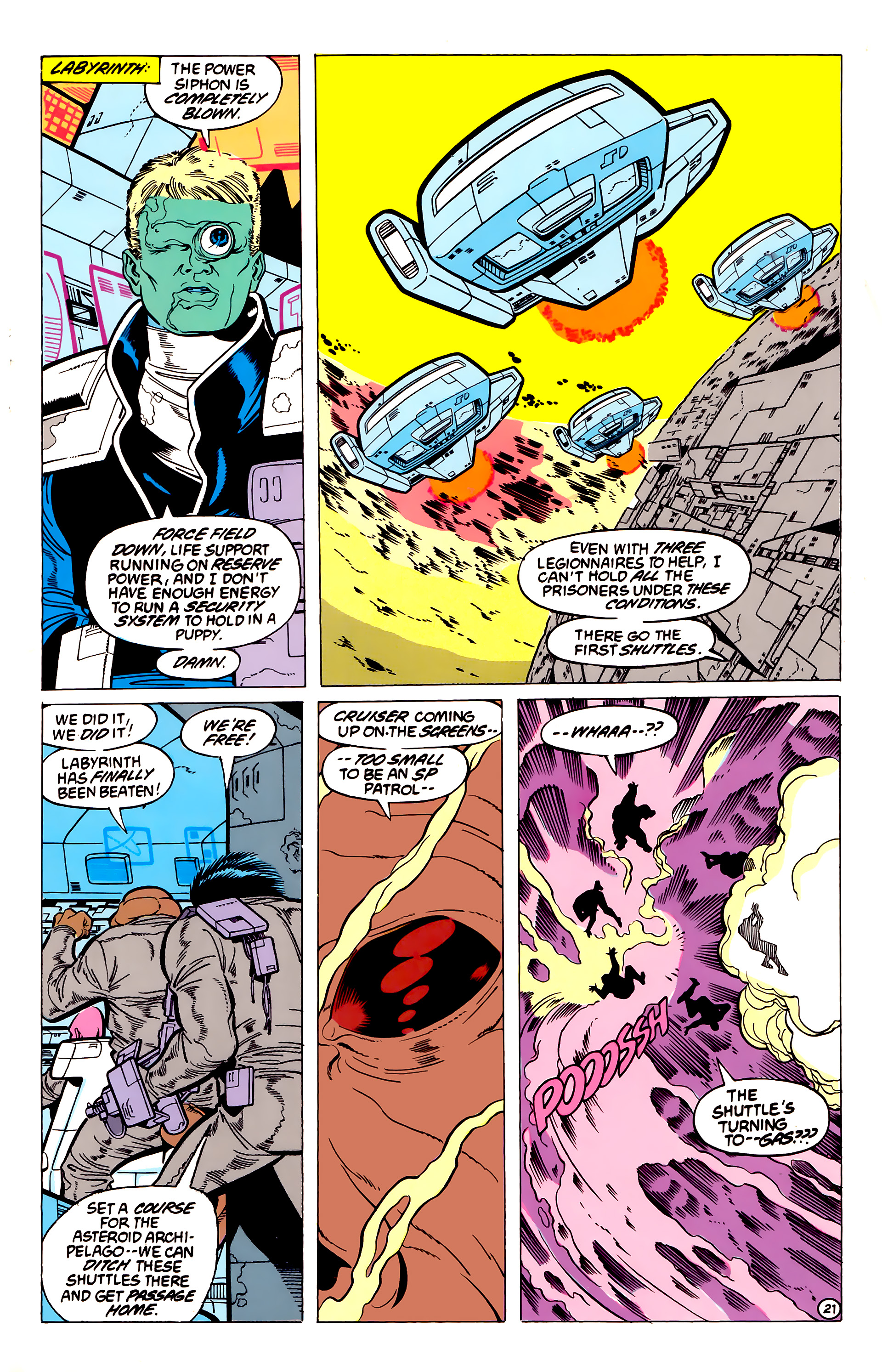 Legion of Super-Heroes (1984) 54 Page 21