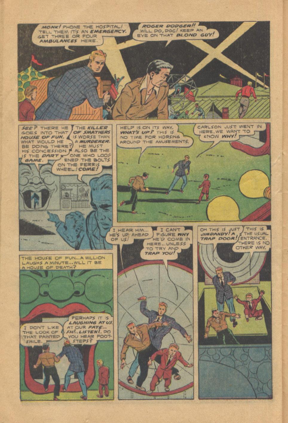 Read online Shadow Comics comic -  Issue #95 - 34