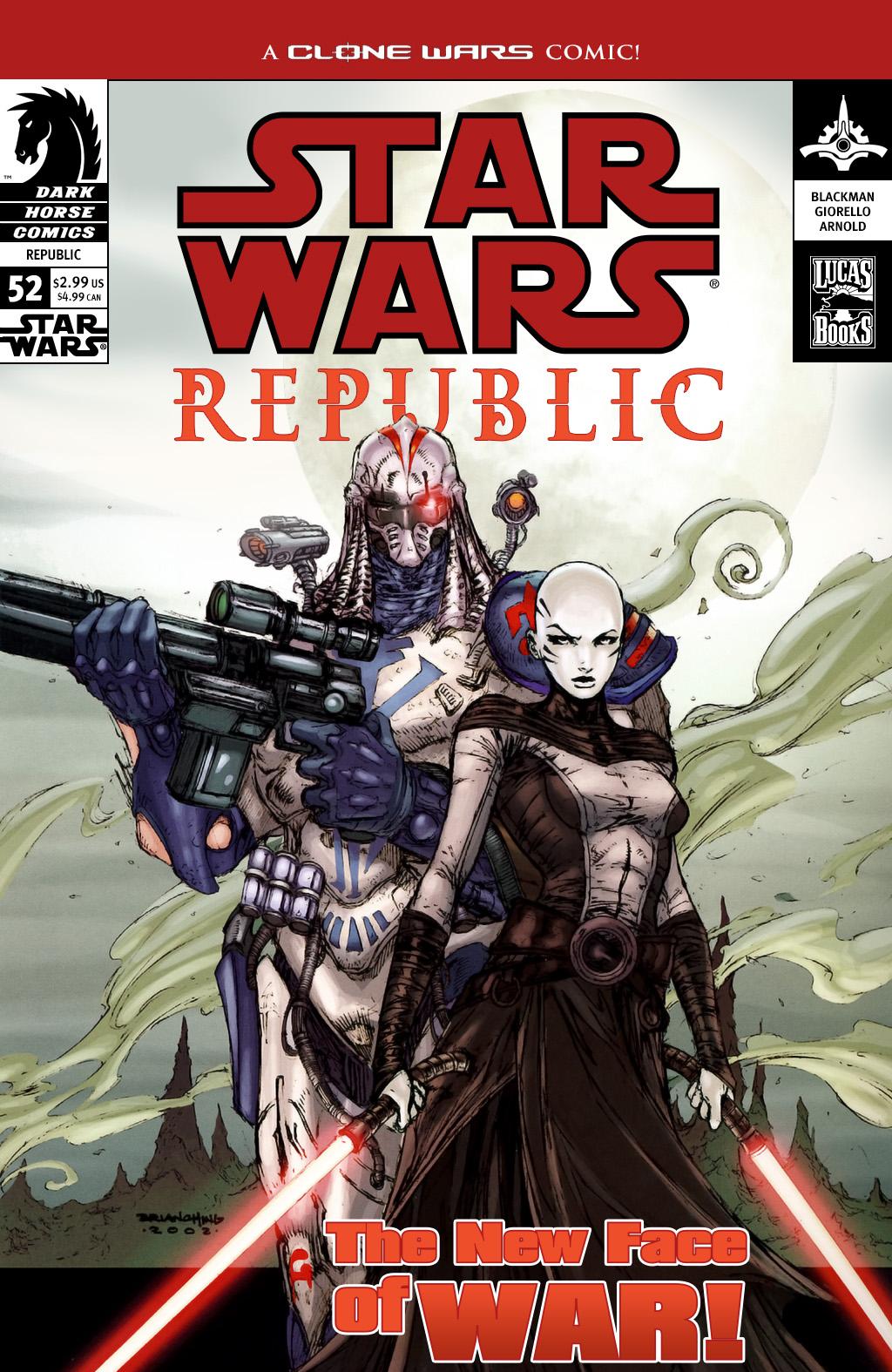 Star Wars: Republic 52 Page 1