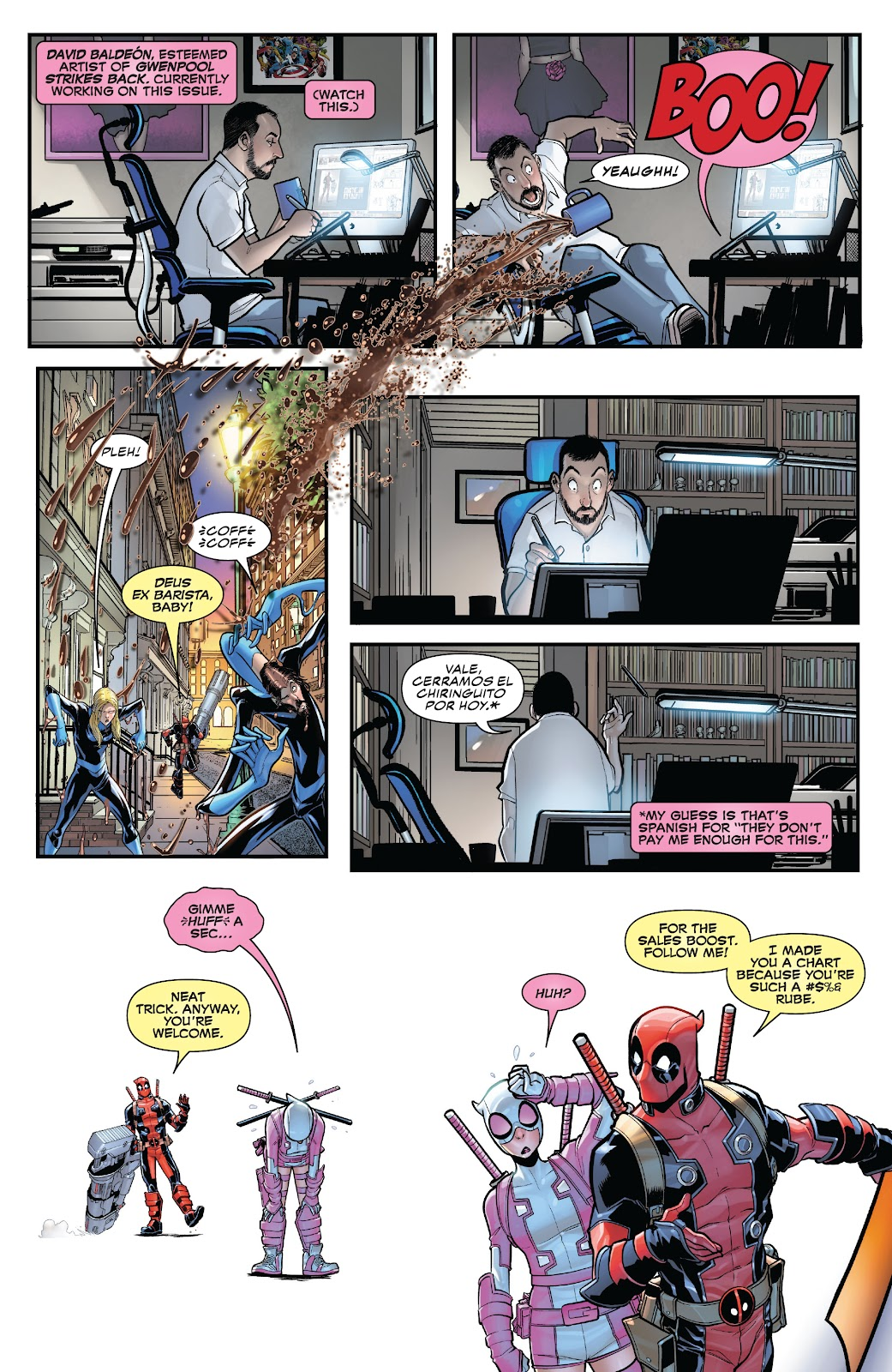 Gwenpool Strikes Back issue _TPB - Page 50