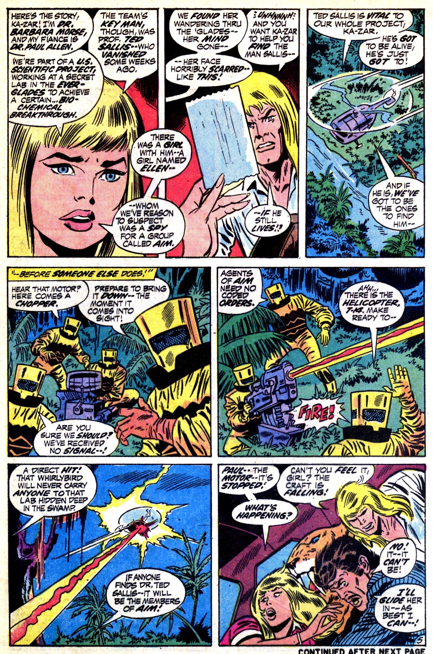 Read online Astonishing Tales (1970) comic -  Issue #12 - 6