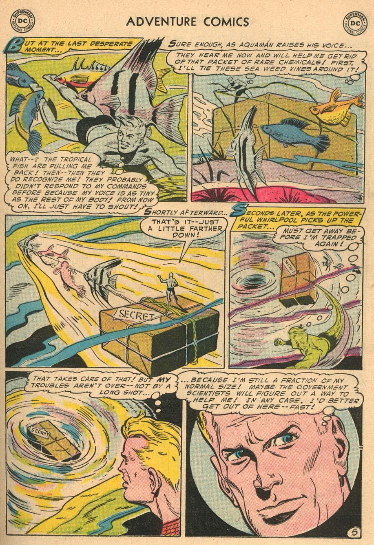 Read online Adventure Comics (1938) comic -  Issue #212 - 21