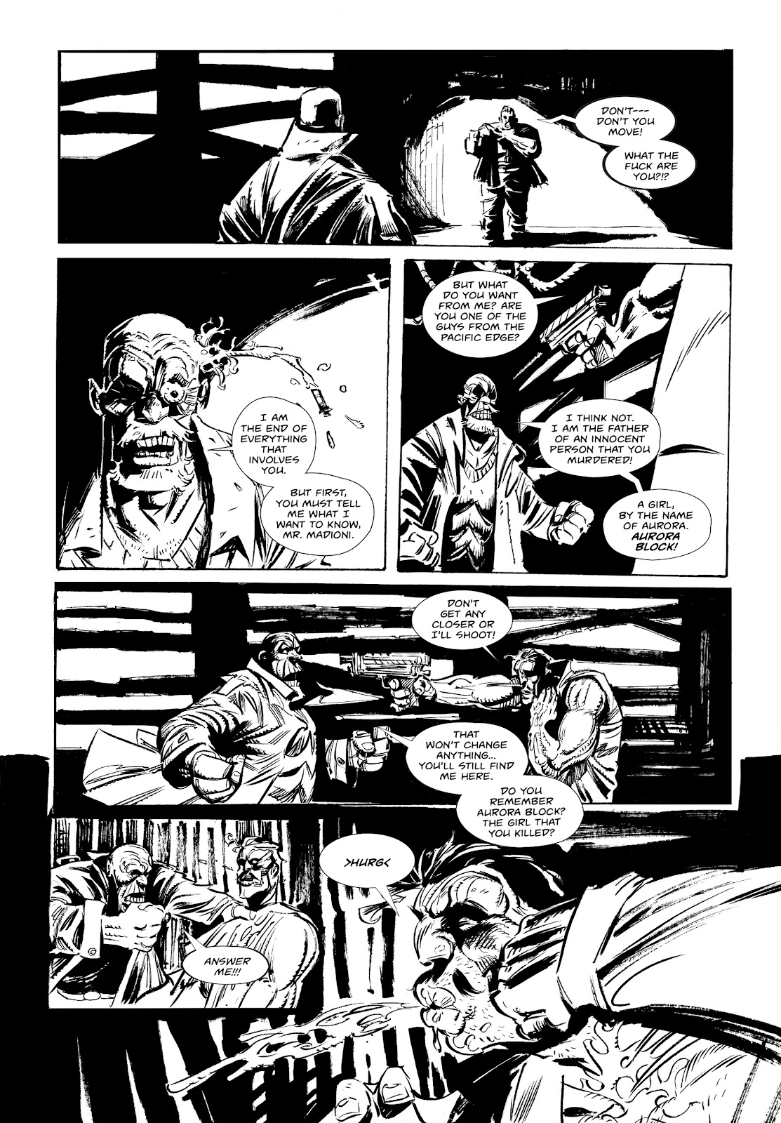 Read online Wrath of God comic -  Issue #1 - 21