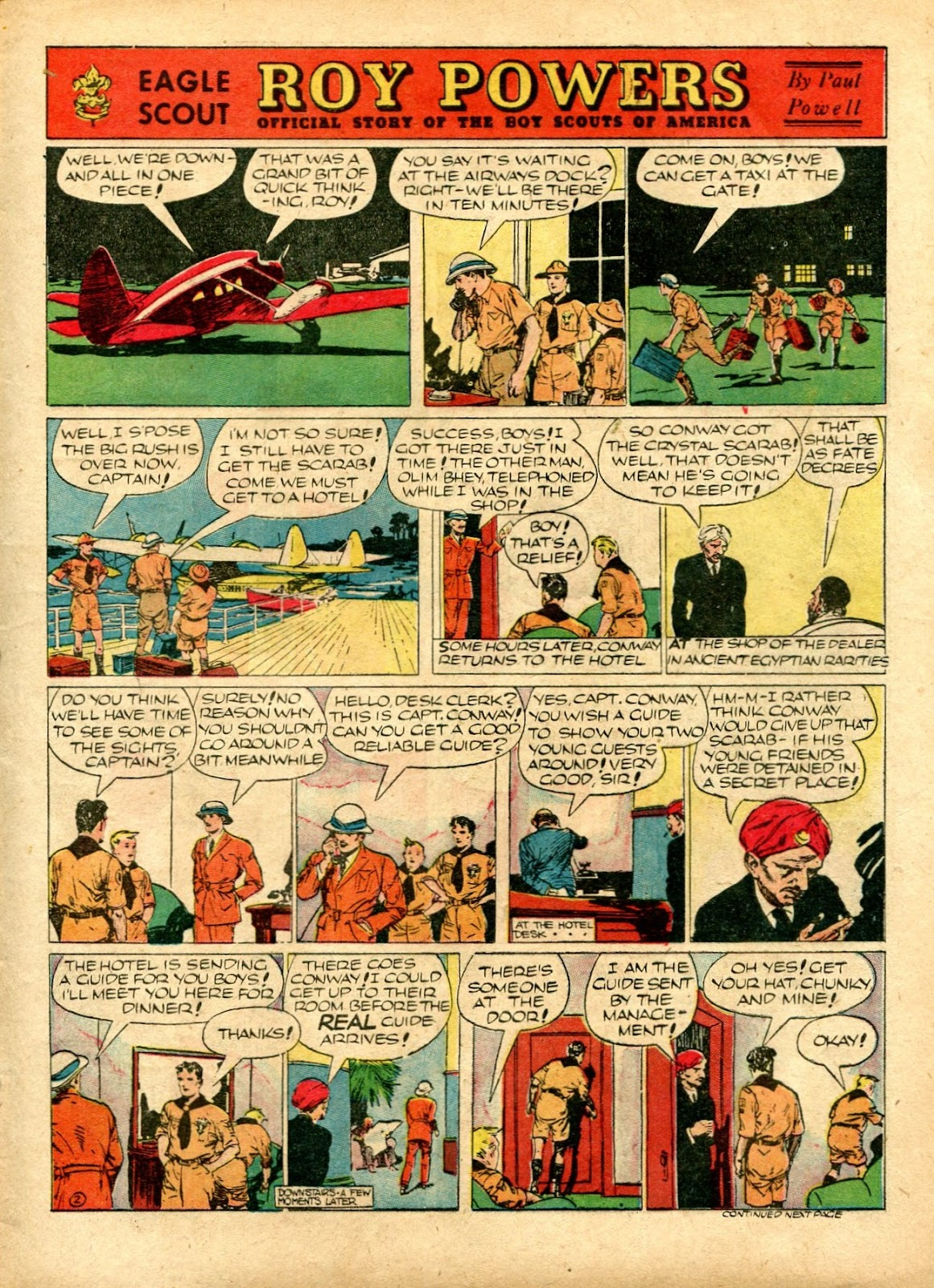 Read online Famous Funnies comic -  Issue #72 - 7