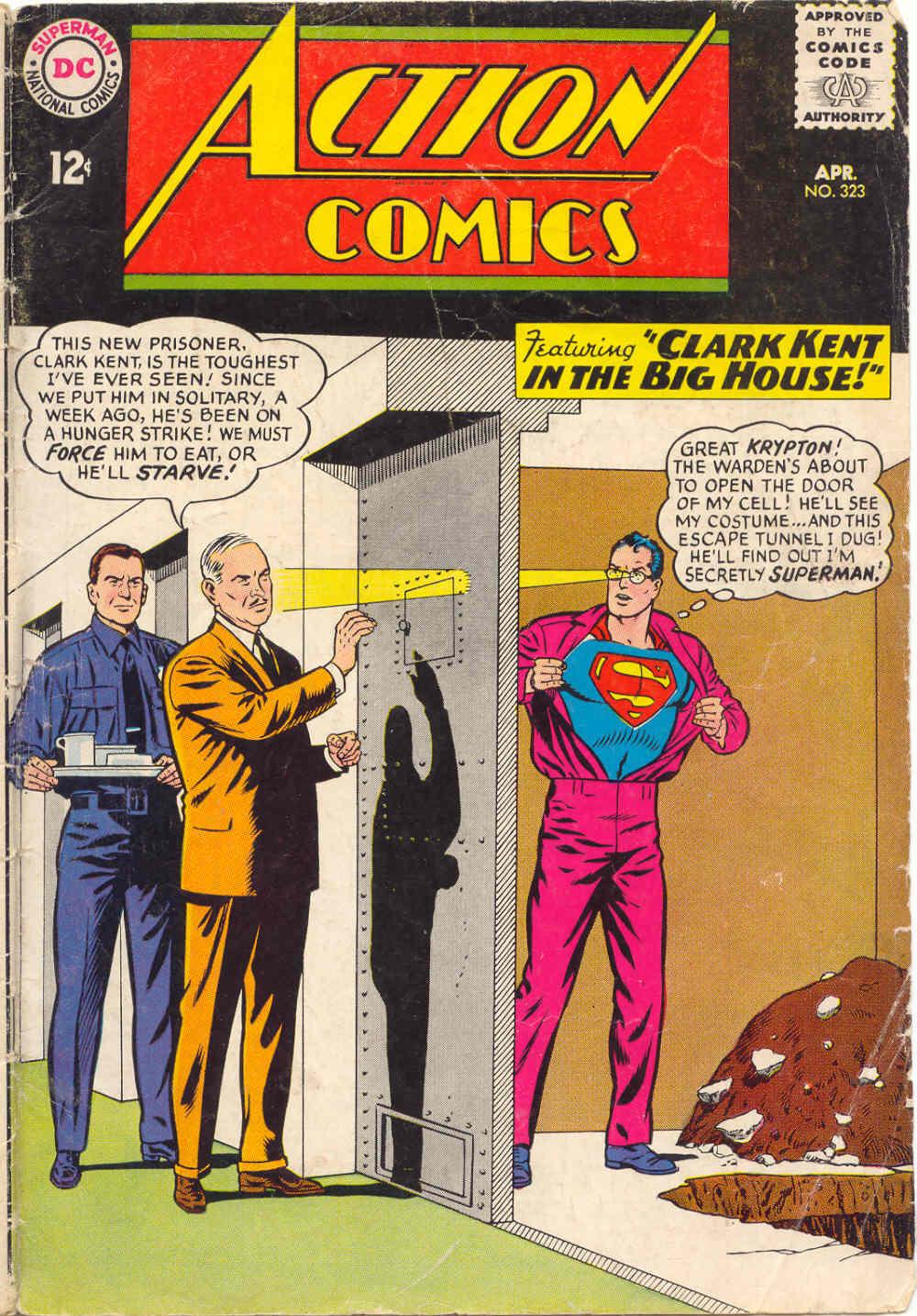 Action Comics (1938) 323 Page 1