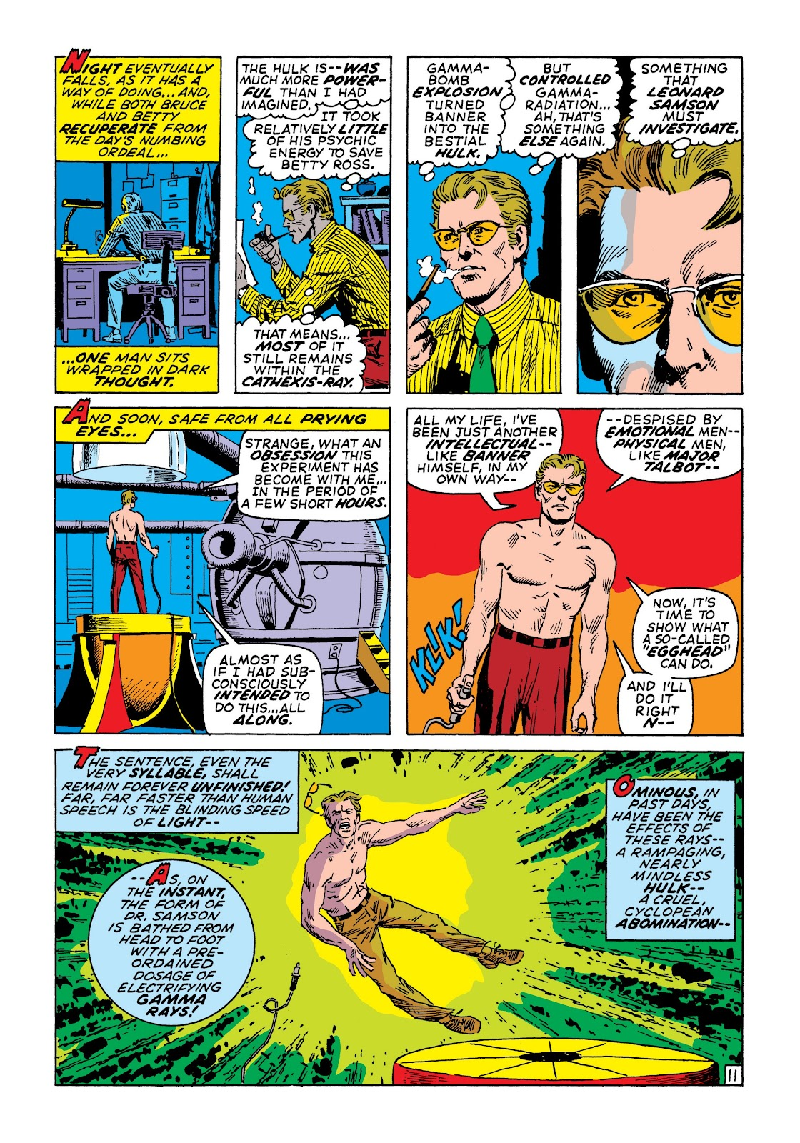 Read online Marvel Masterworks: The Incredible Hulk comic -  Issue # TPB 7 (Part 2) - 58