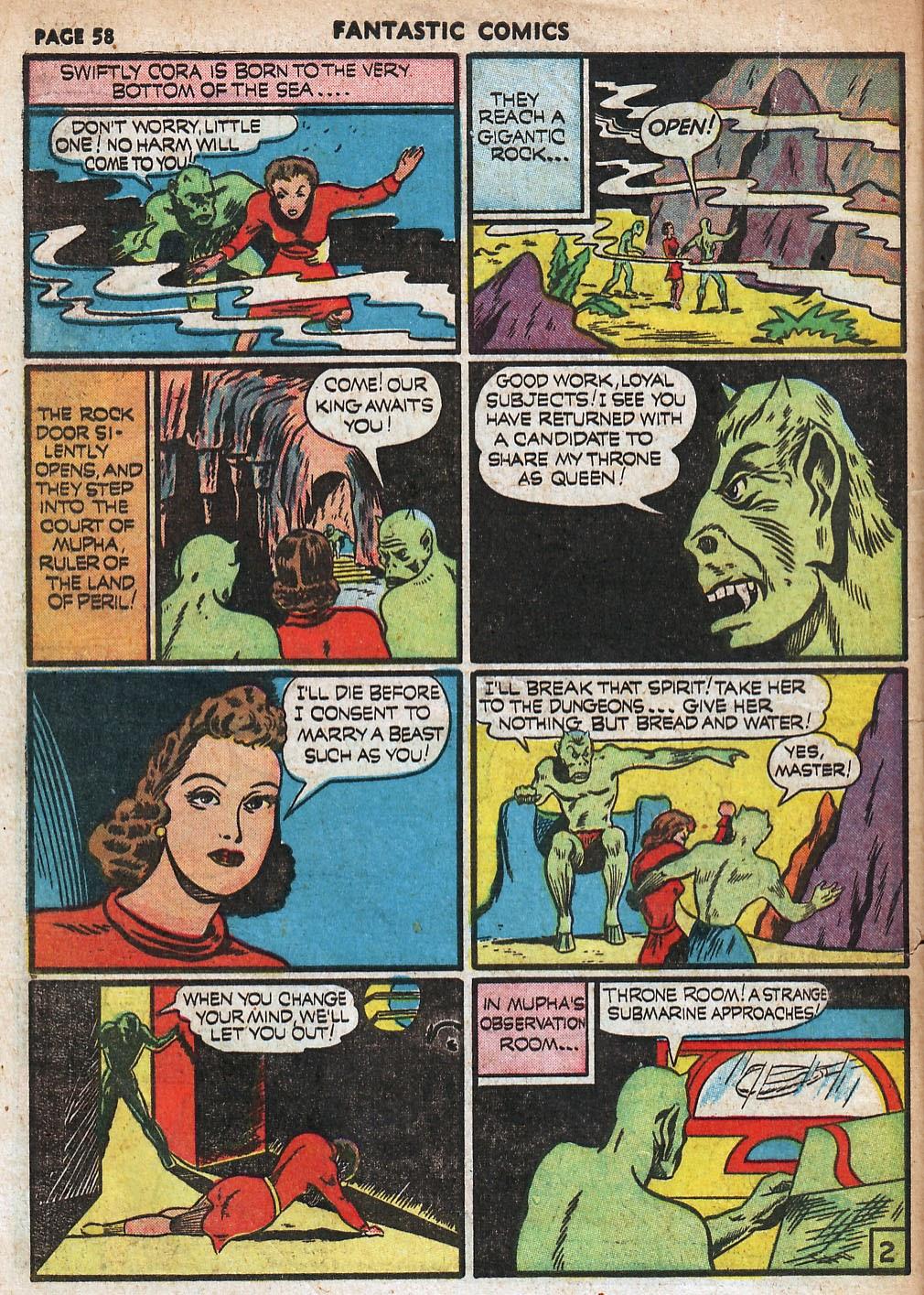 Read online Fantastic Comics comic -  Issue #18 - 60