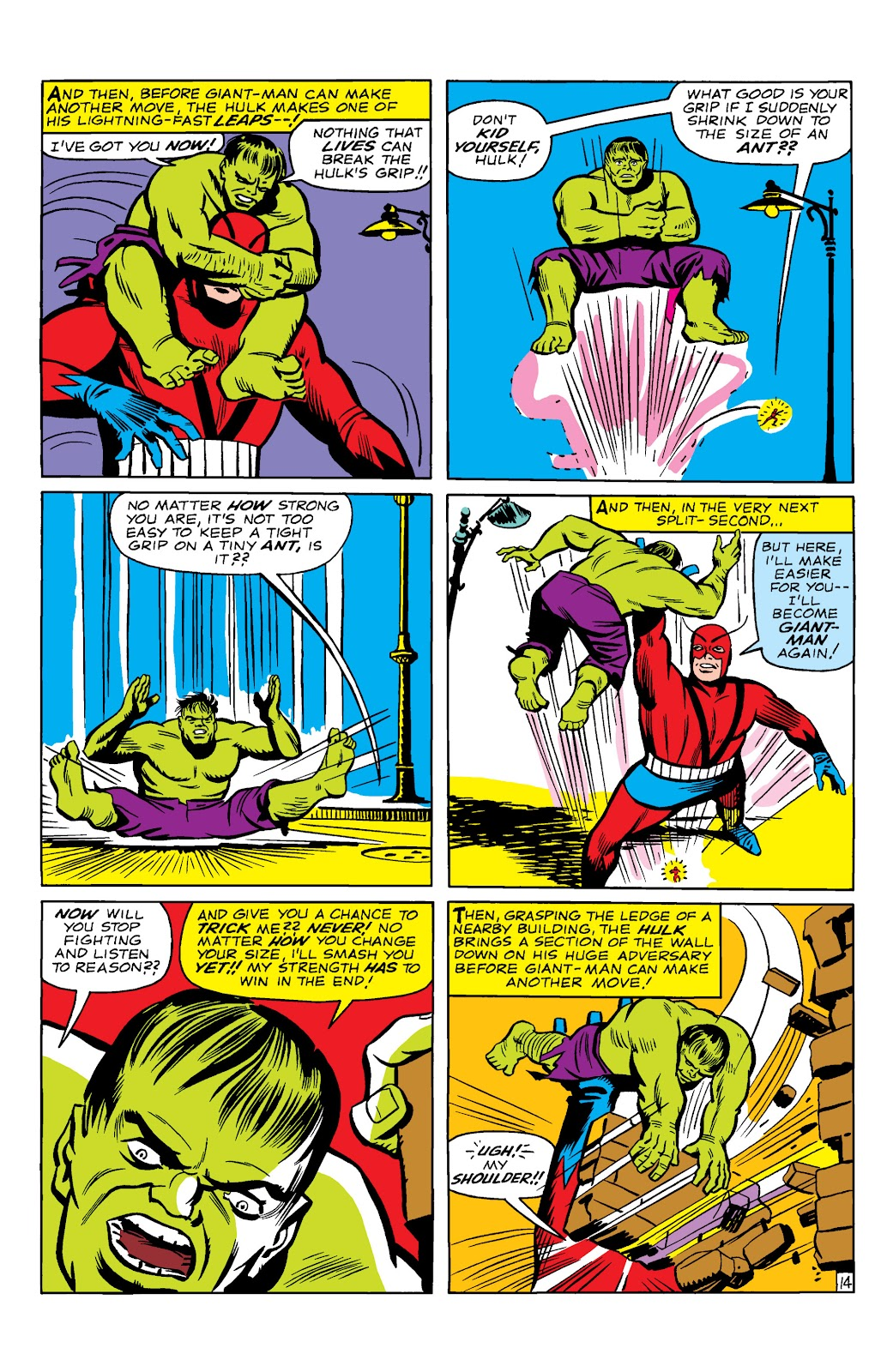 Read online Marvel Masterworks: The Incredible Hulk comic -  Issue # TPB 2 (Part 1) - 17