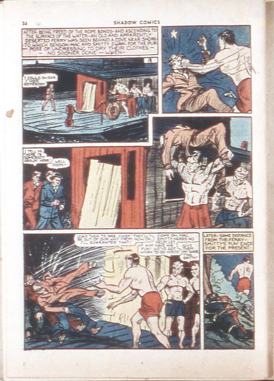 Read online Shadow Comics comic -  Issue #6 - 38