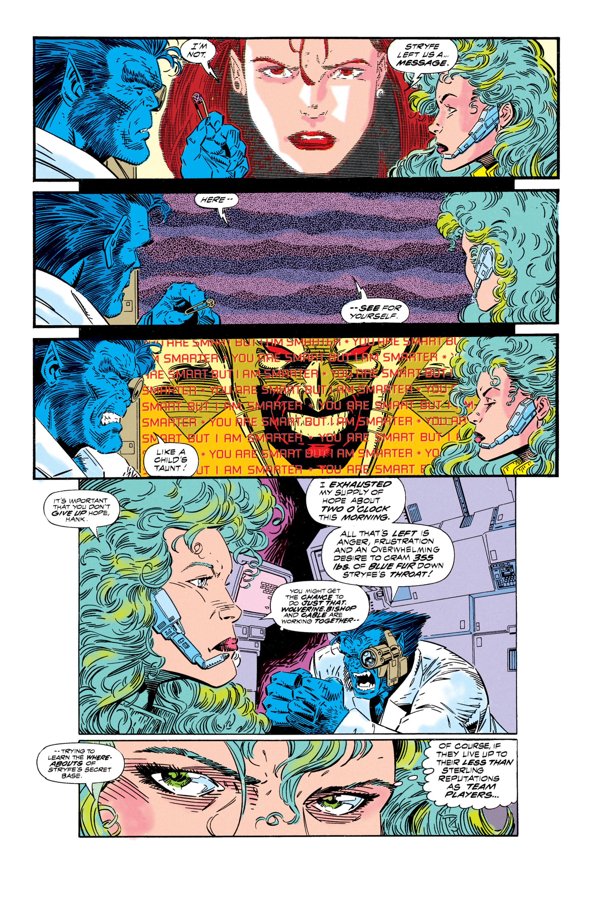 Read online Uncanny X-Men (1963) comic -  Issue #296 - 7