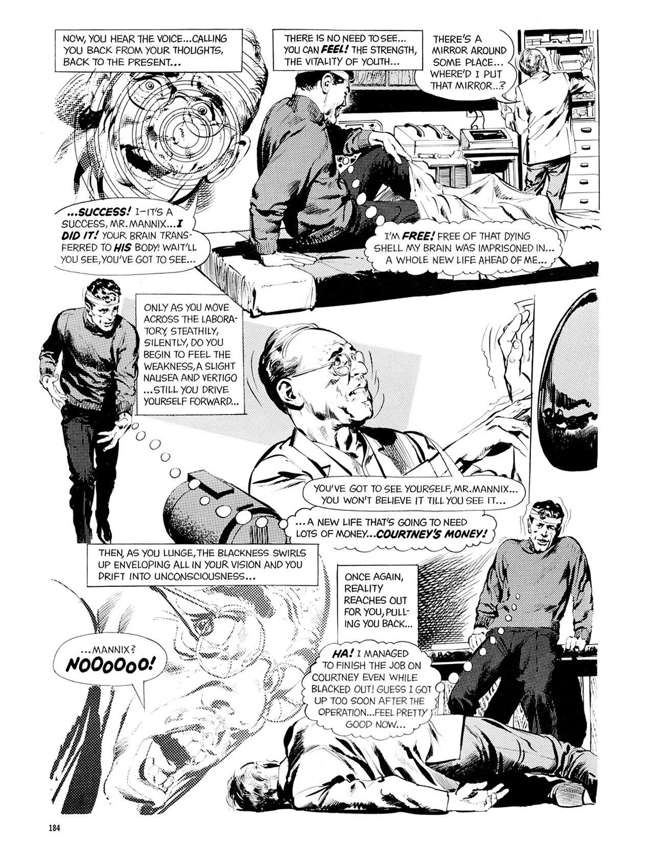 Read online Eerie Archives comic -  Issue # TPB 2 - 185