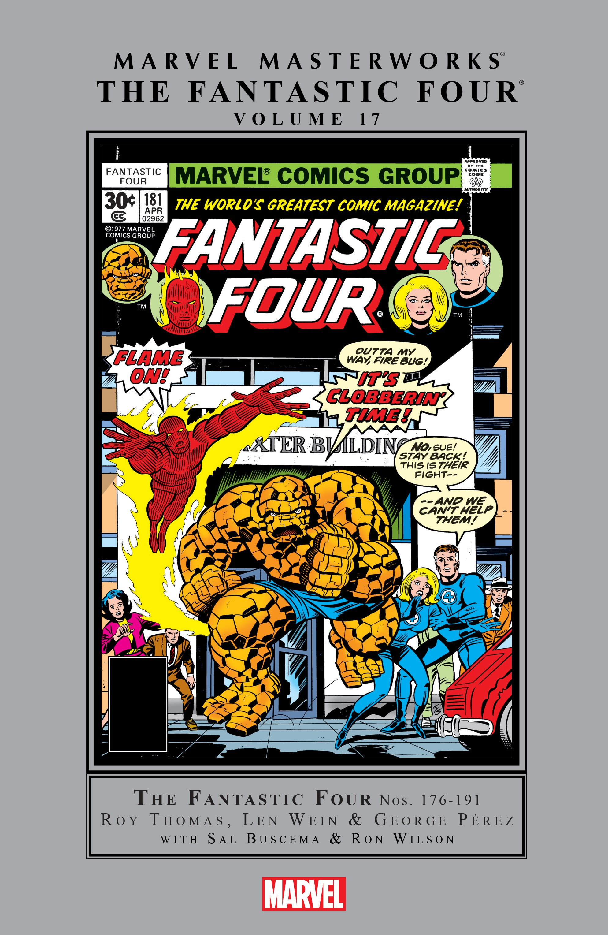 Marvel Masterworks: The Fantastic Four TPB_17_(Part_1) Page 1