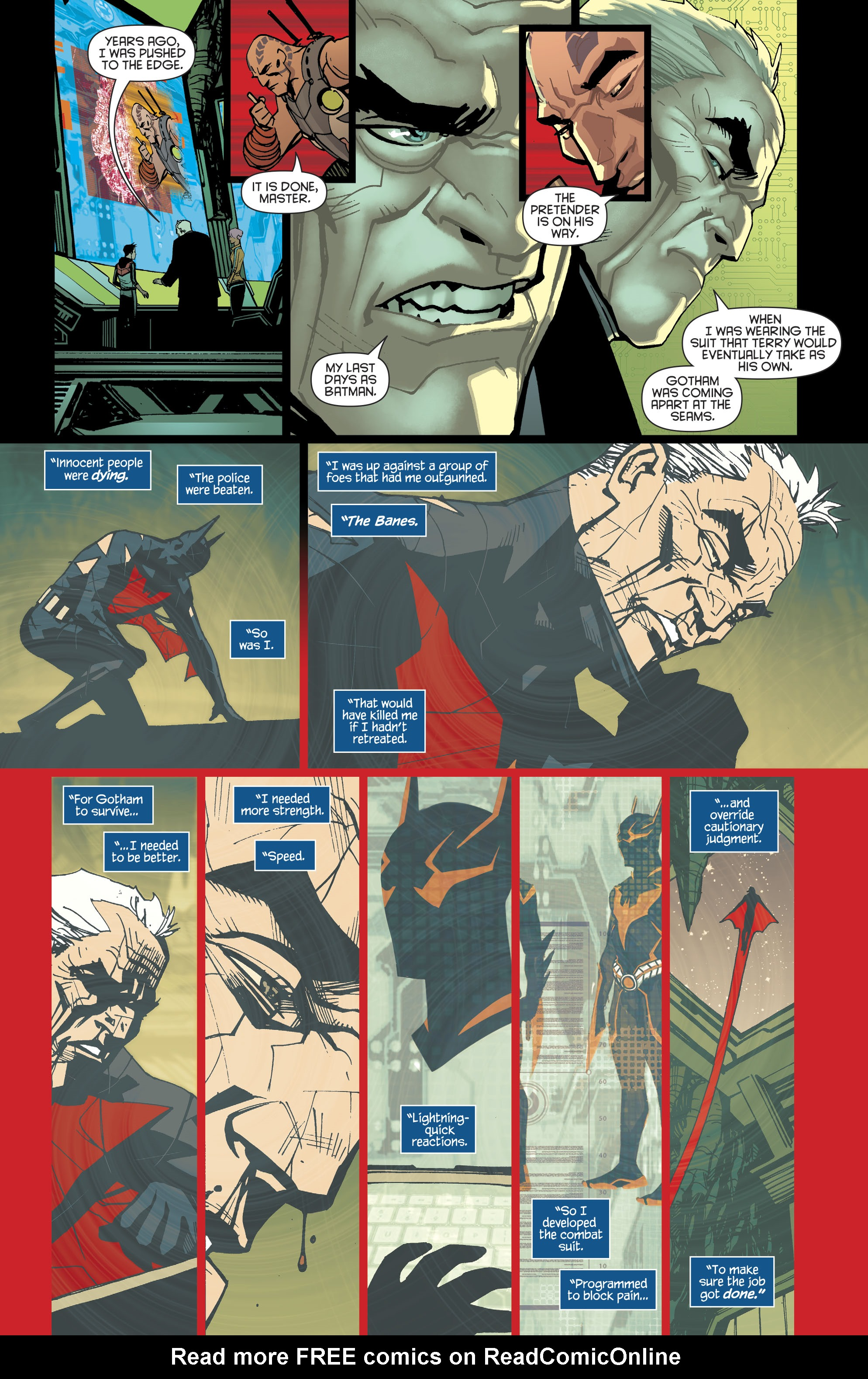 Read online Batman Beyond (2016) comic -  Issue #8 - 11