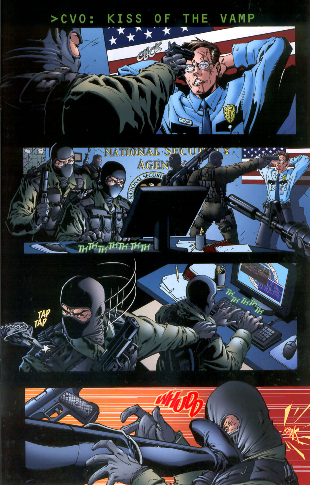 Read online CVO: Covert Vampiric Operations - Human Touch comic -  Issue # Full - 19