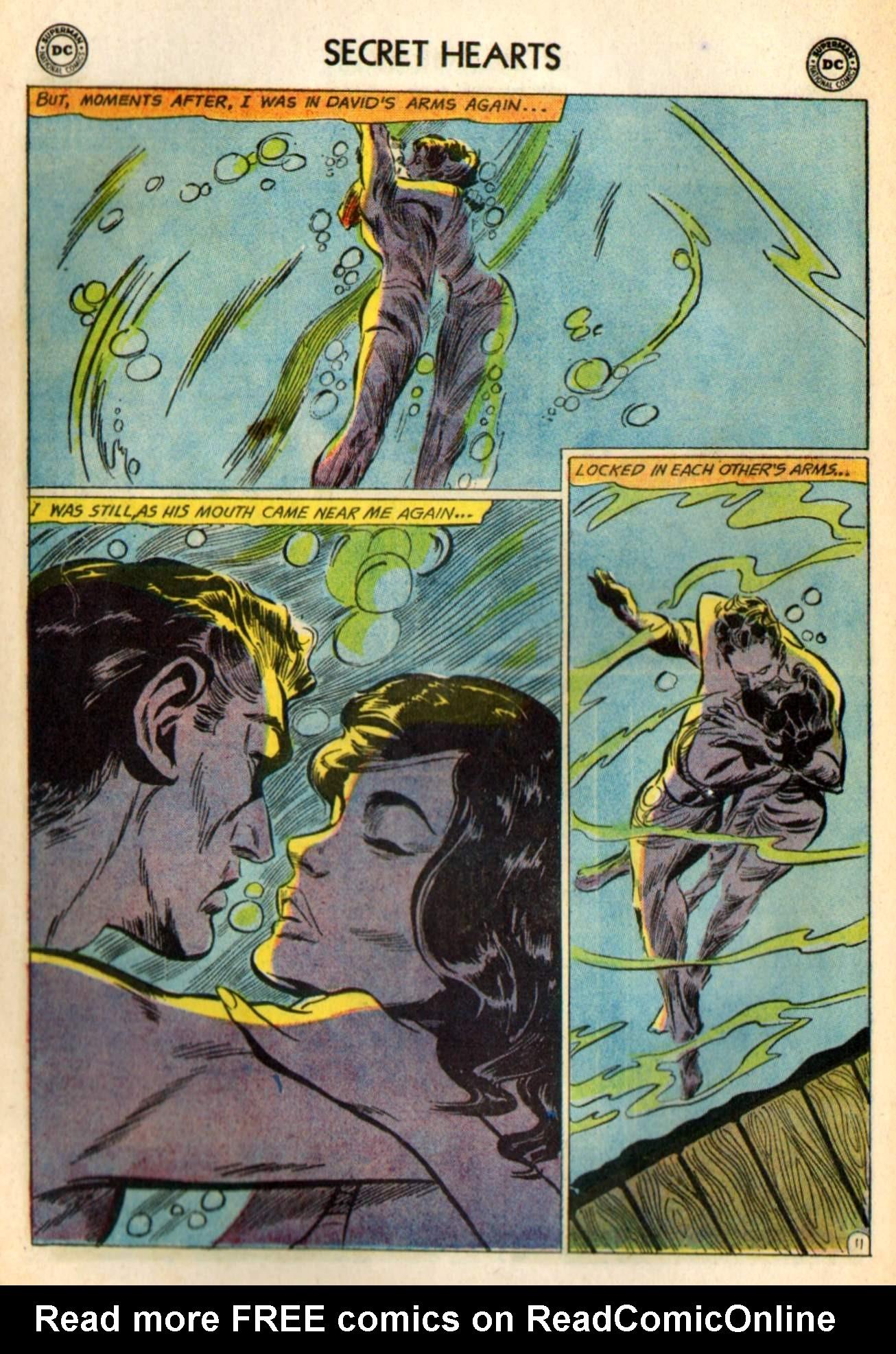 Read online Secret Hearts comic -  Issue #98 - 30