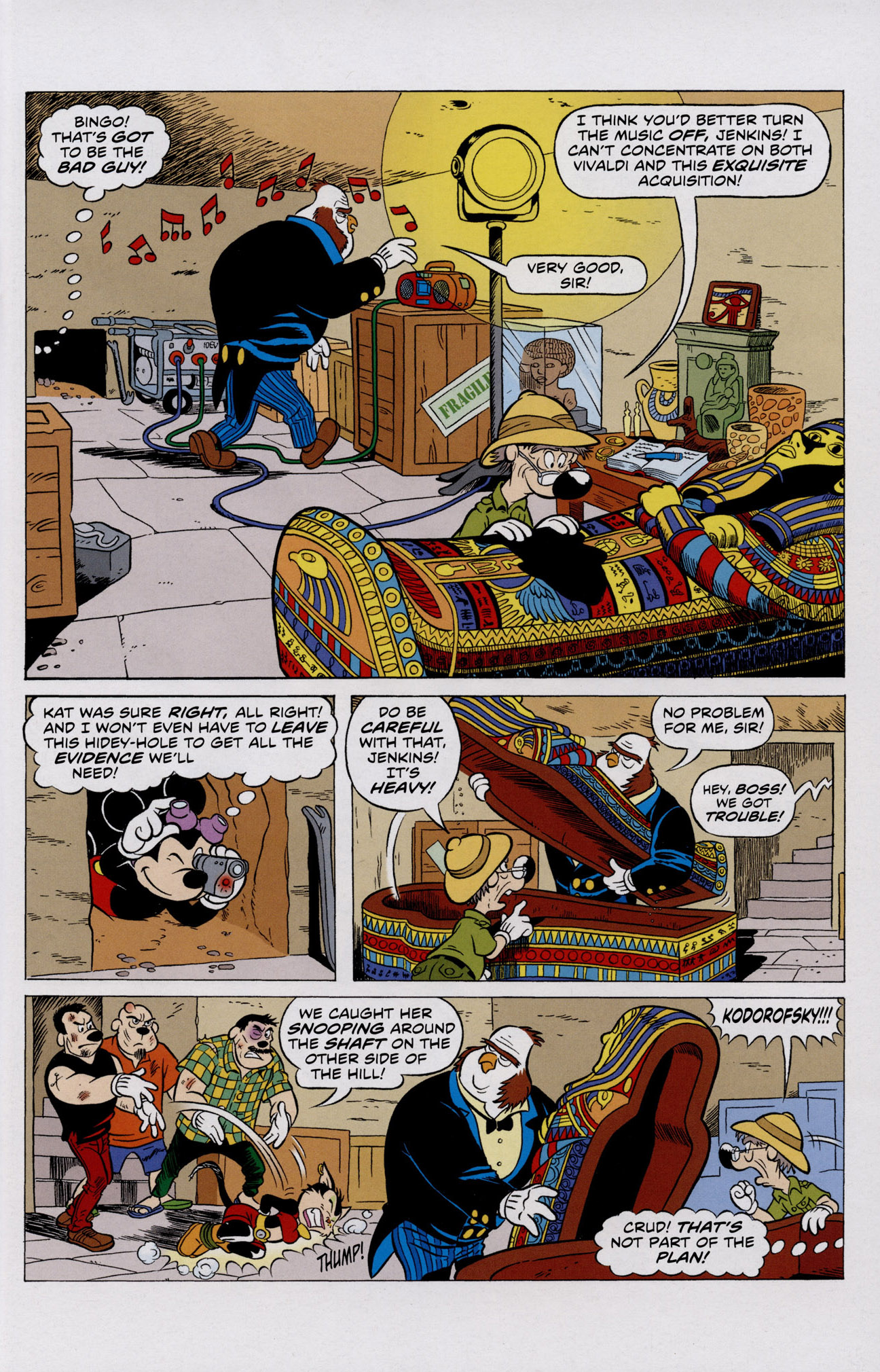 Read online Mickey Mouse (2011) comic -  Issue #306 - 9