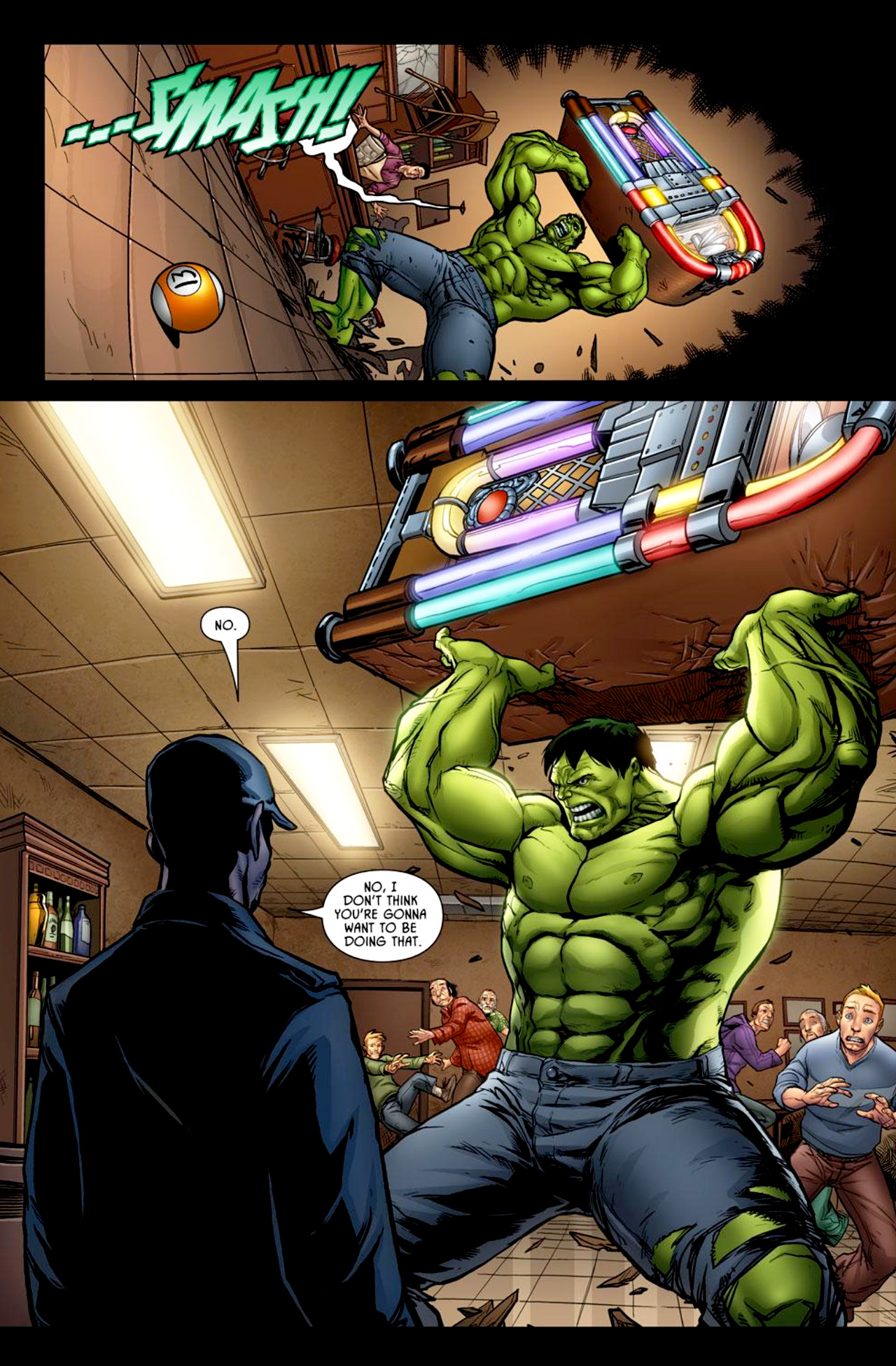 Read online Incredible Hulk: The Fury Files comic -  Issue #1 - 3