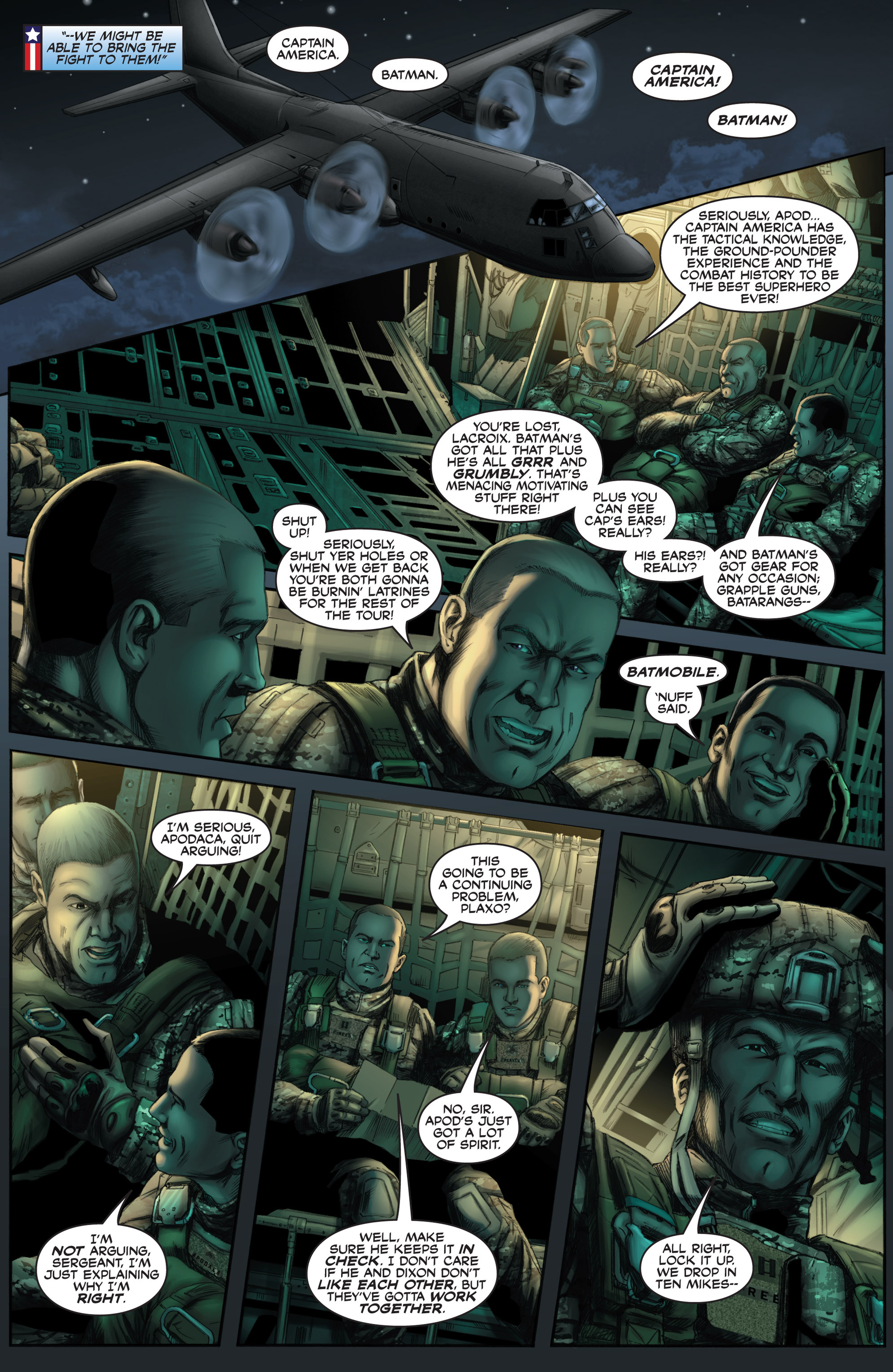 Read online America's Army comic -  Issue #8 - 12