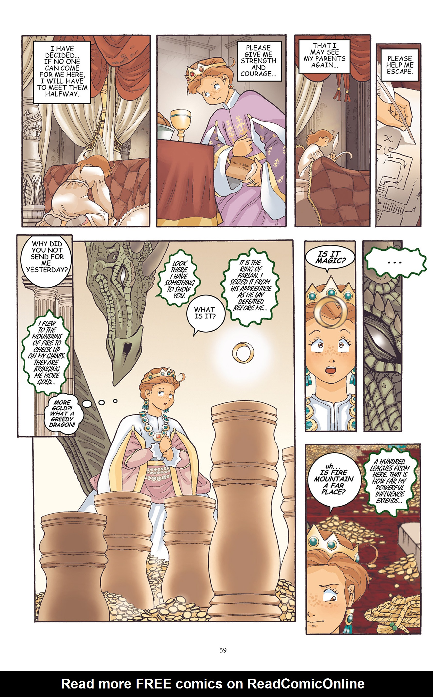 Read online Courageous Princess comic -  Issue # TPB 1 - 60