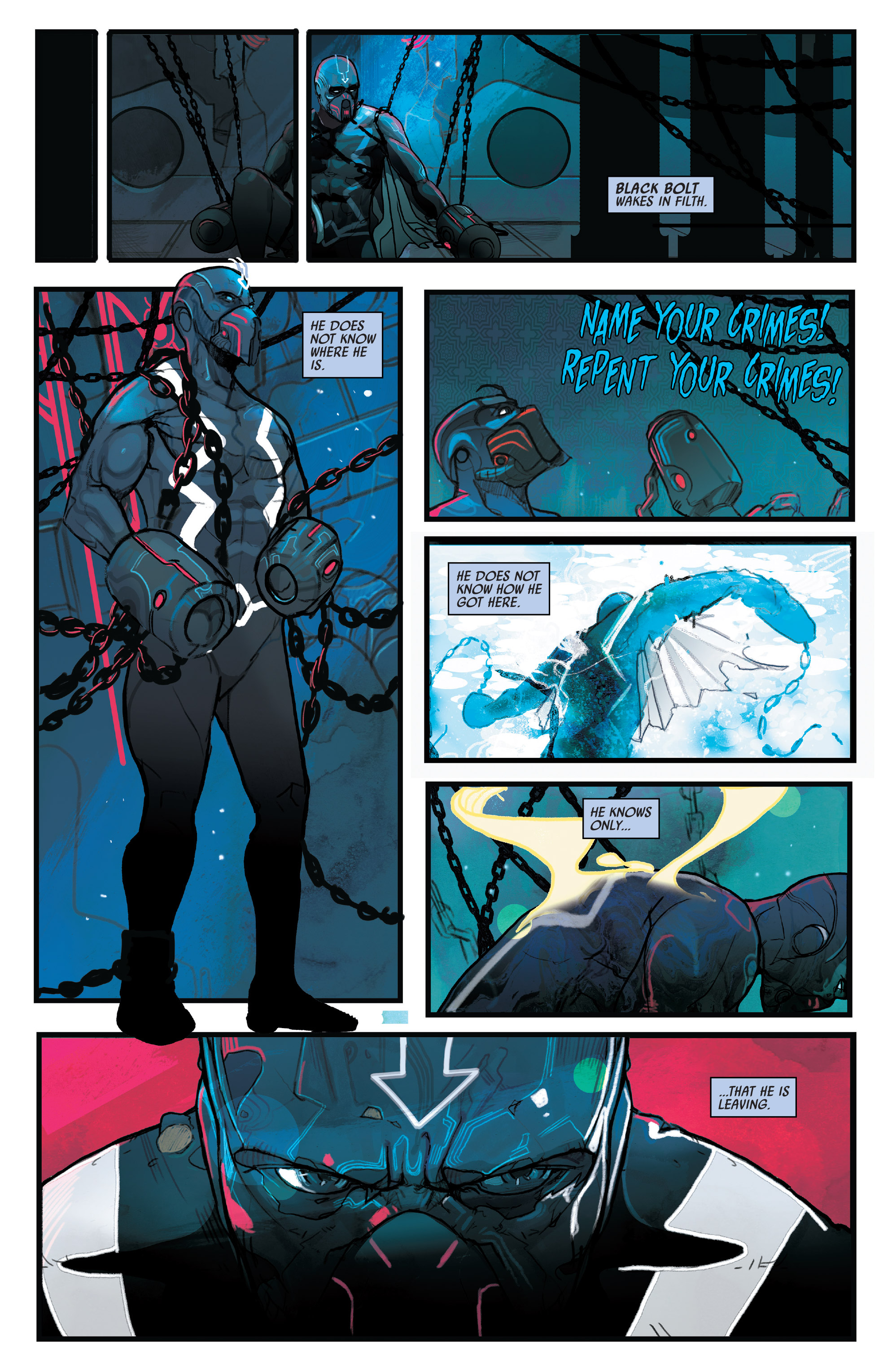 Read online Black Bolt comic -  Issue #1 - 6