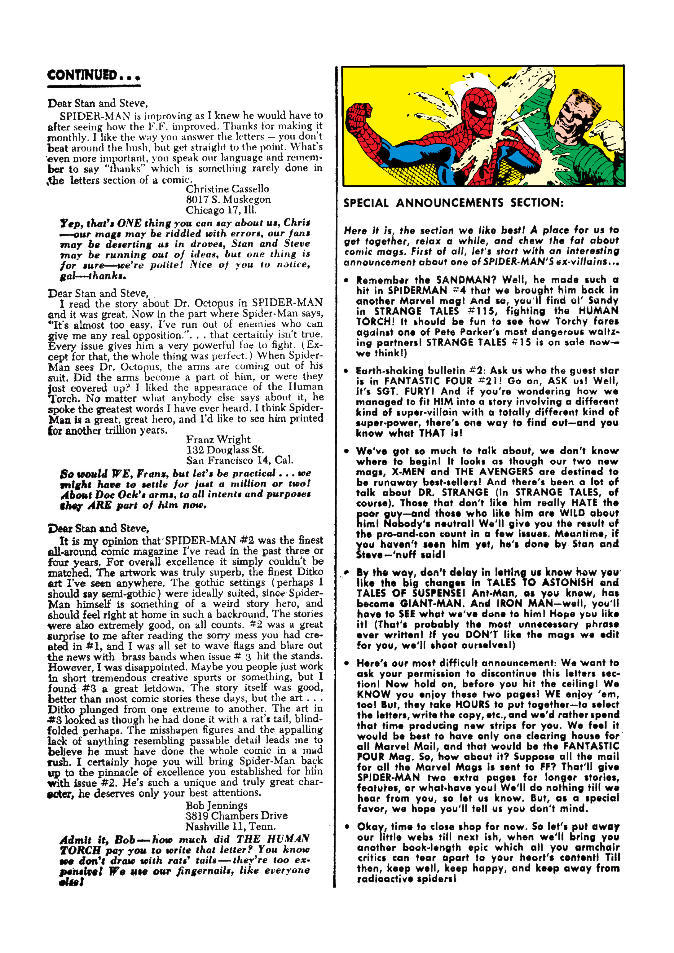 The Amazing Spider-Man (1963) 7 Page 23
