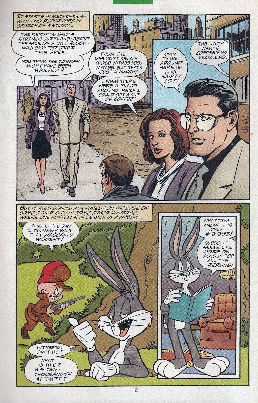 Superman & Bugs Bunny Issue #1 #1 - English 4
