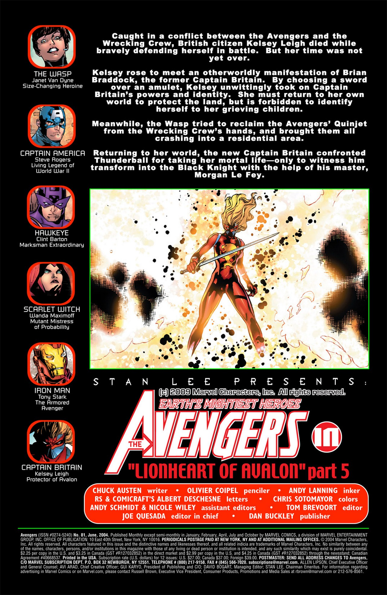 Read online Avengers (1998) comic -  Issue #81 - 2
