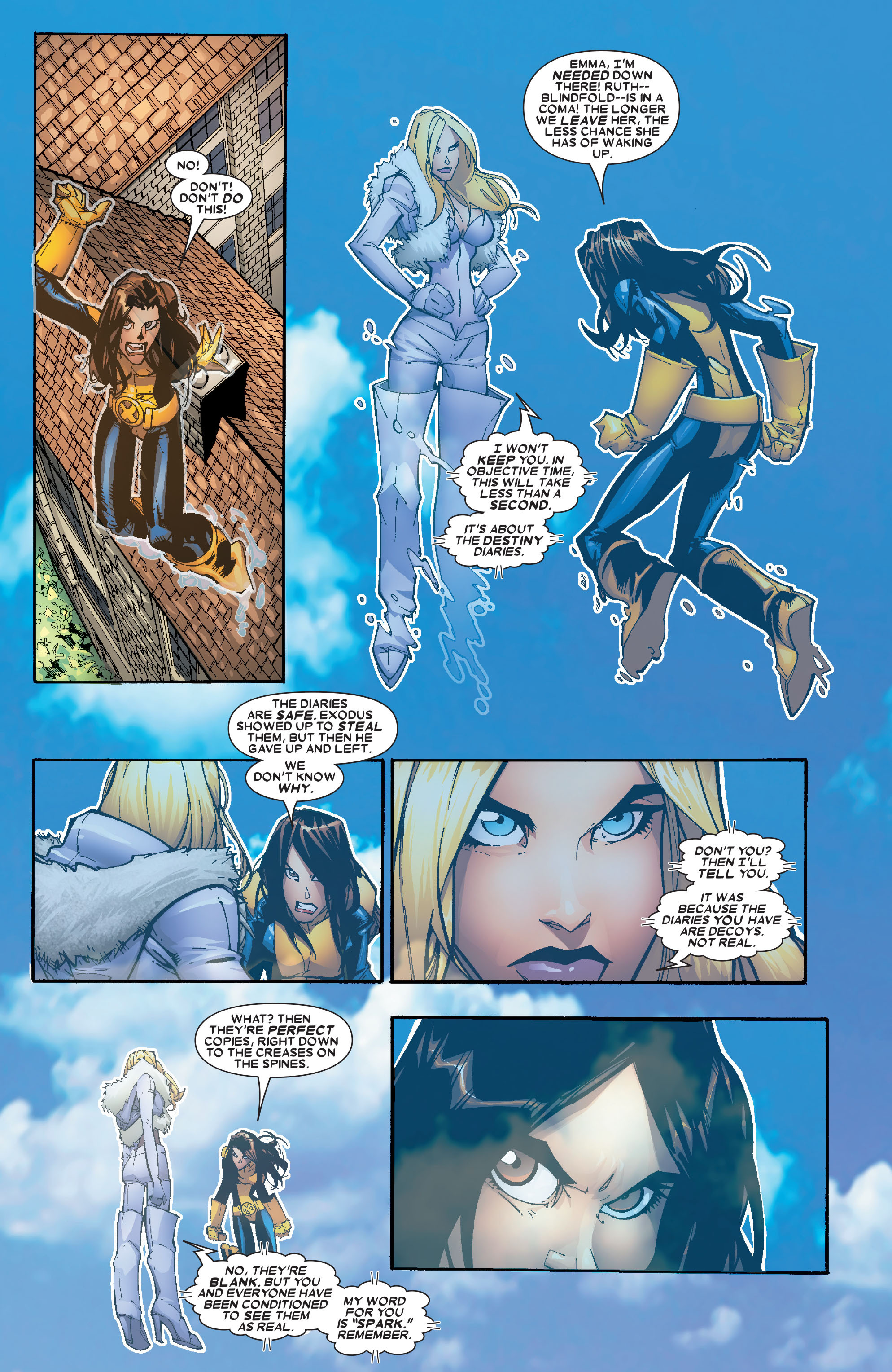 X-Men (1991) 203 Page 2