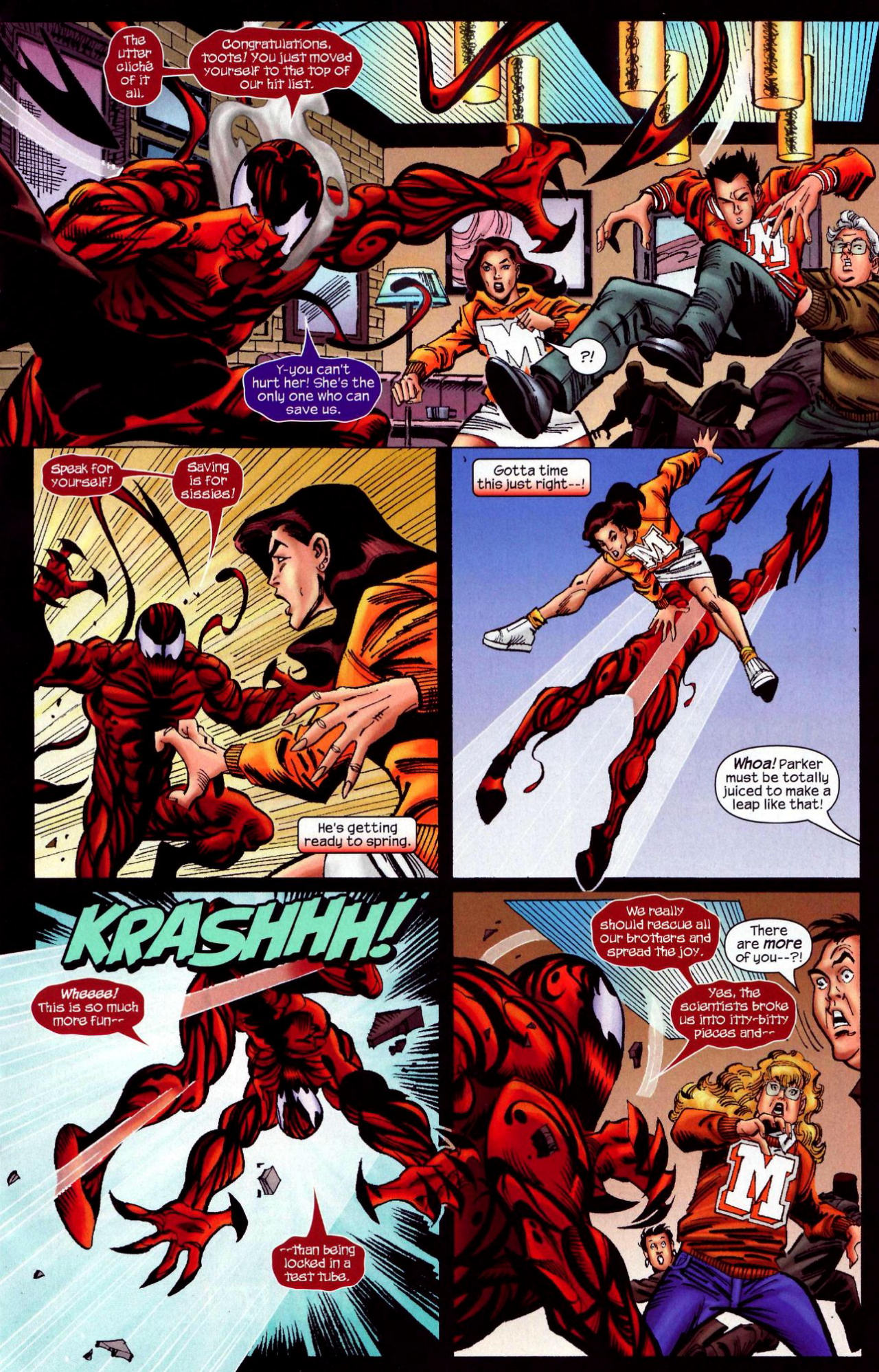 Read online Amazing Spider-Girl comic -  Issue #10 - 13