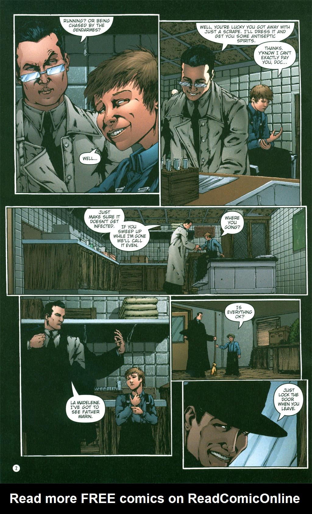 Read online Rex Mundi comic -  Issue #2 - 4