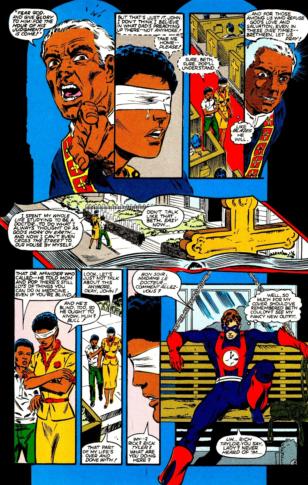 Infinity Inc. (1984) issue 21 - Page 20