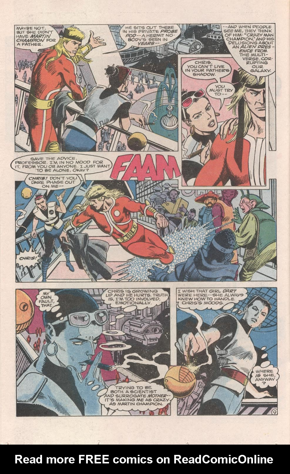 Read online Atari Force (1984) comic -  Issue #3 - 10