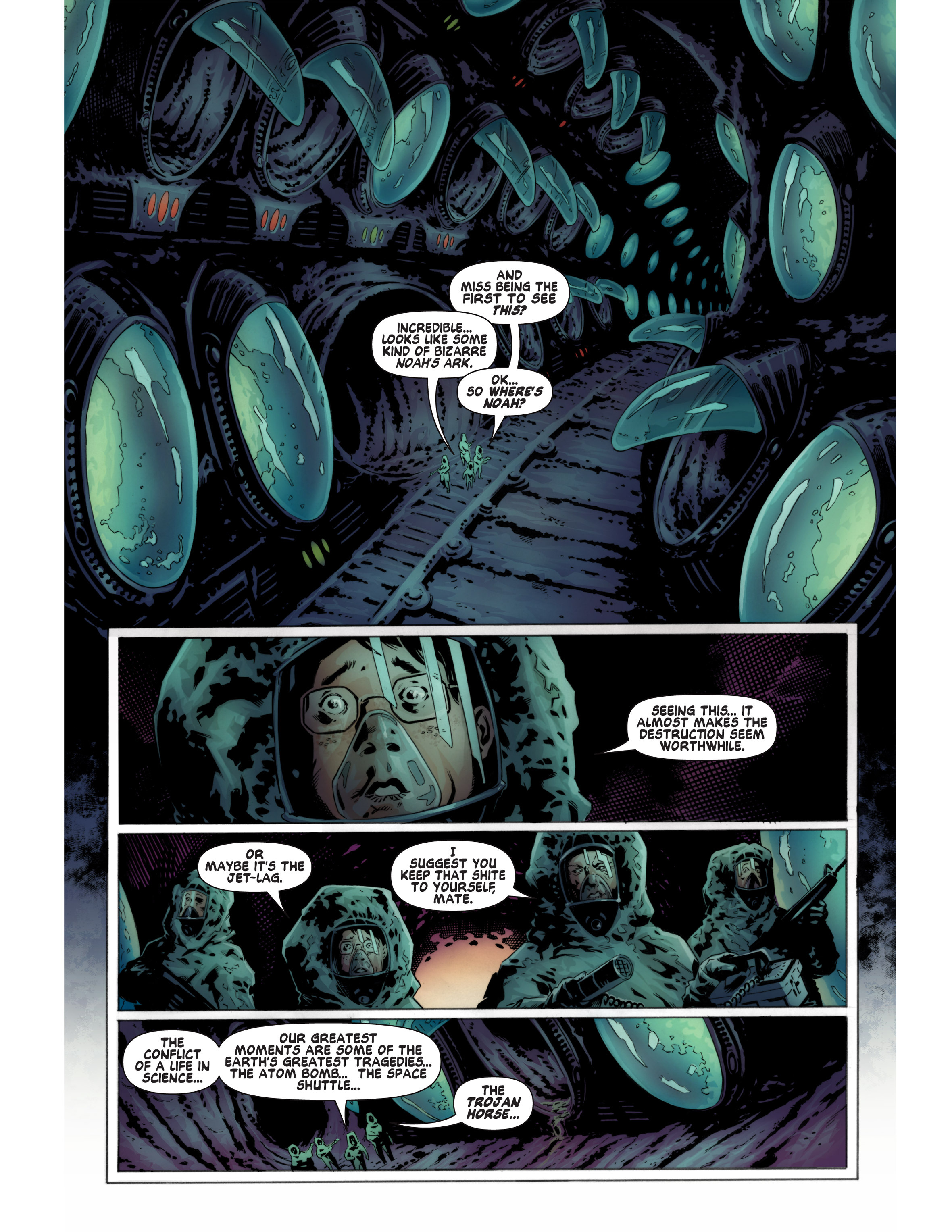 Read online Bad Planet comic -  Issue # TPB - 38