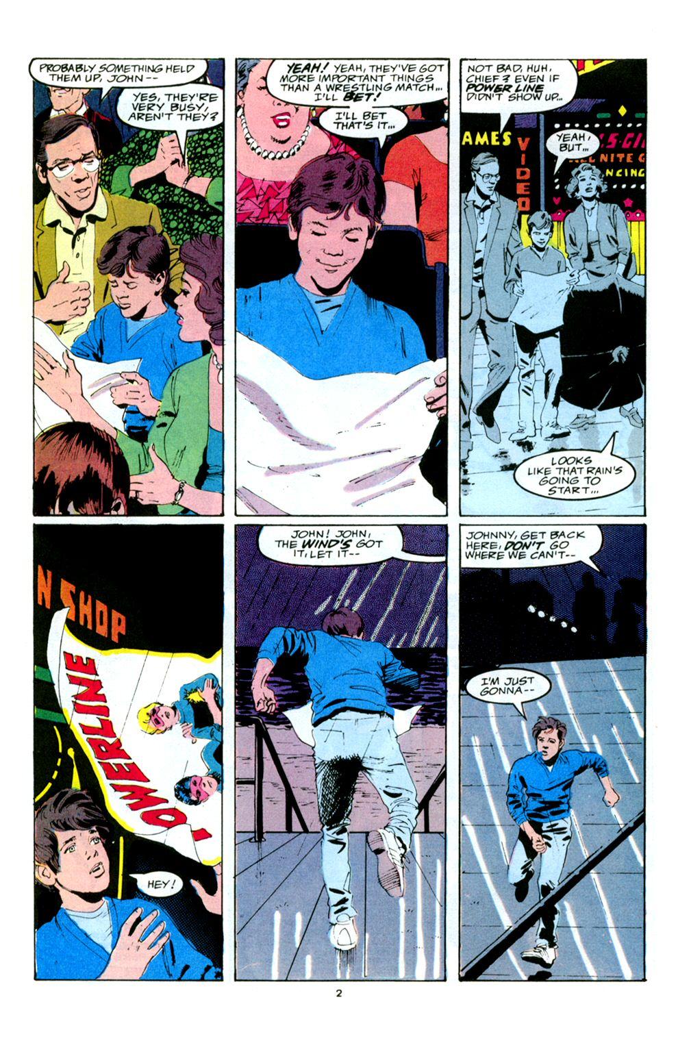 Read online Powerline comic -  Issue #5 - 4