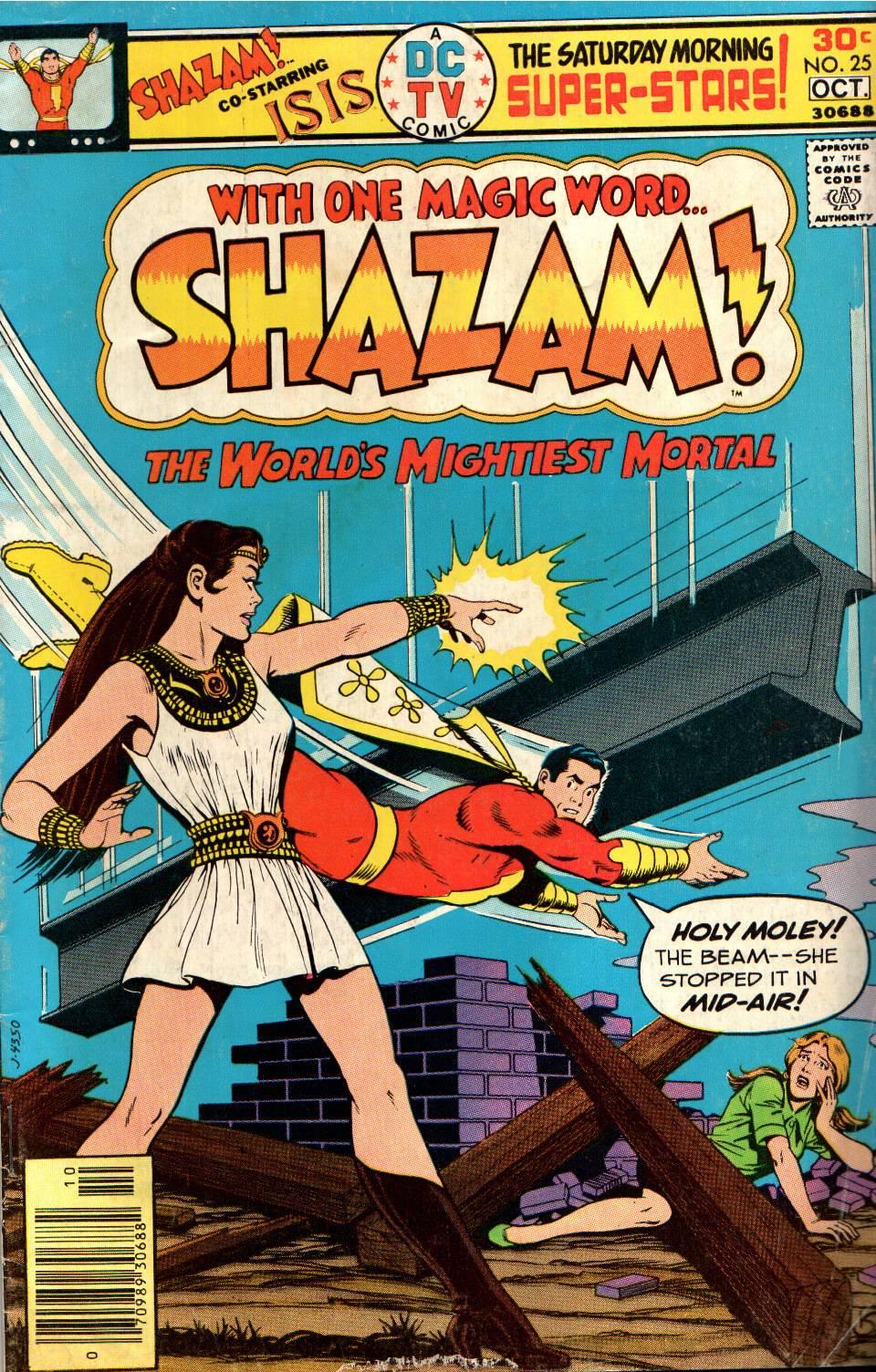 Read online Shazam! (1973) comic -  Issue #25 - 1