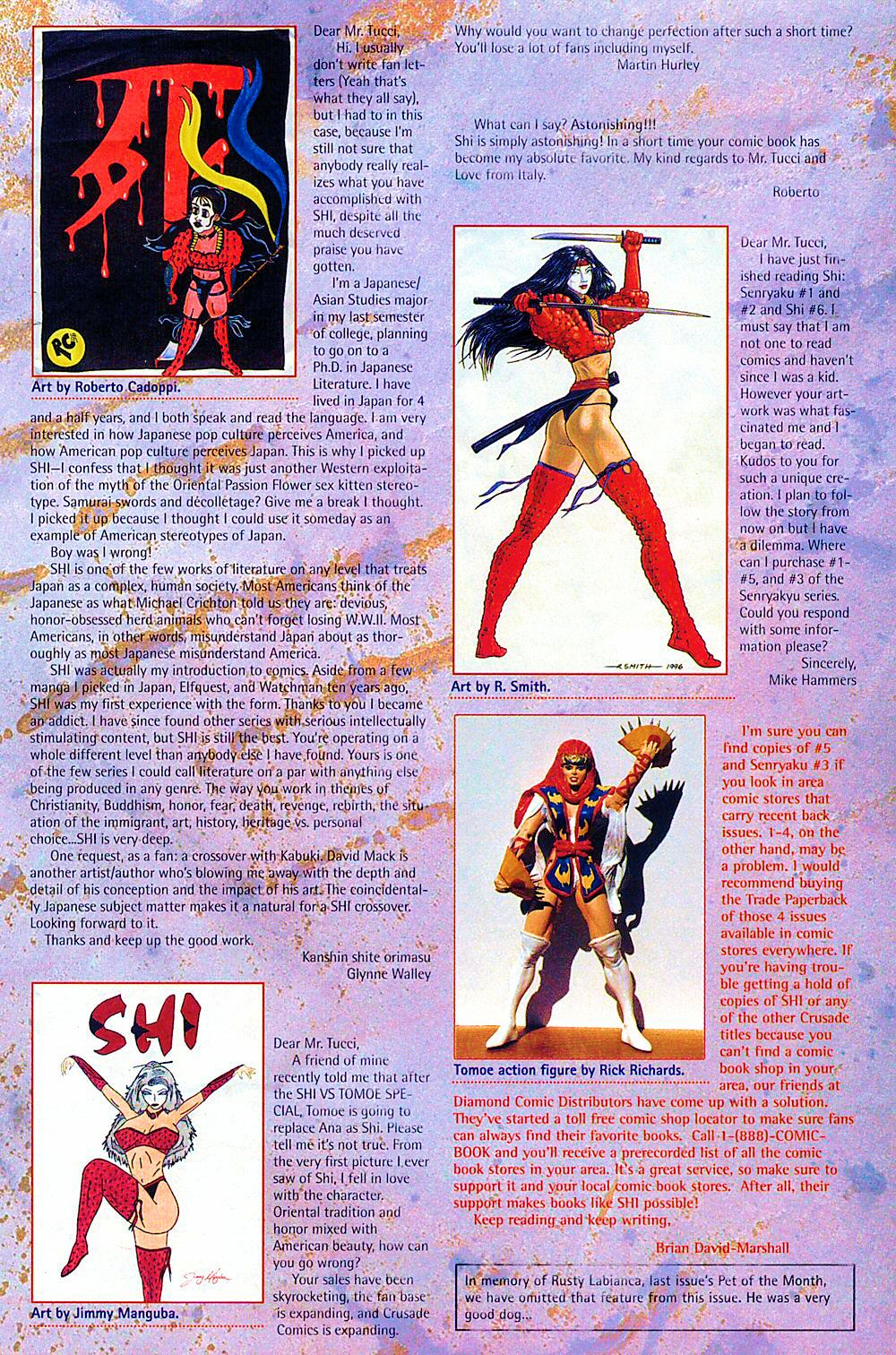 Read online Shi: The Way of the Warrior comic -  Issue #8 - 31