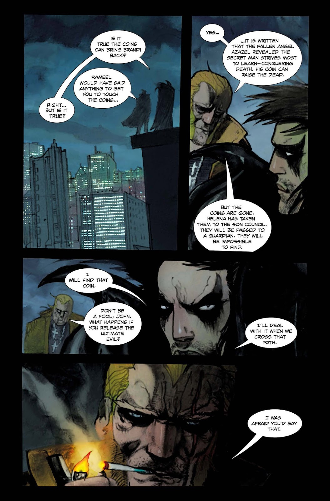 13 Coins issue TPB - Page 160
