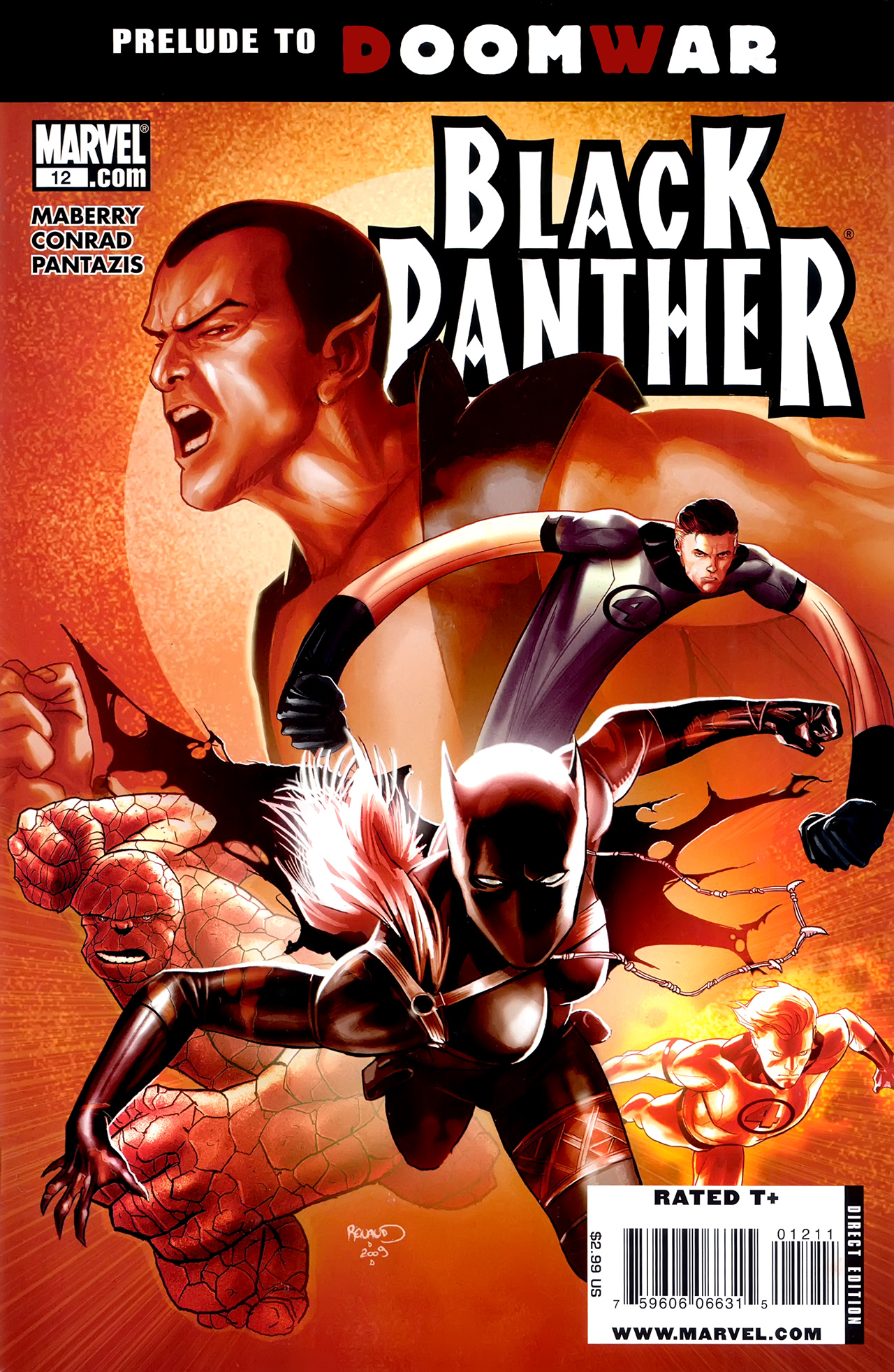 Black Panther (2009) 12 Page 1