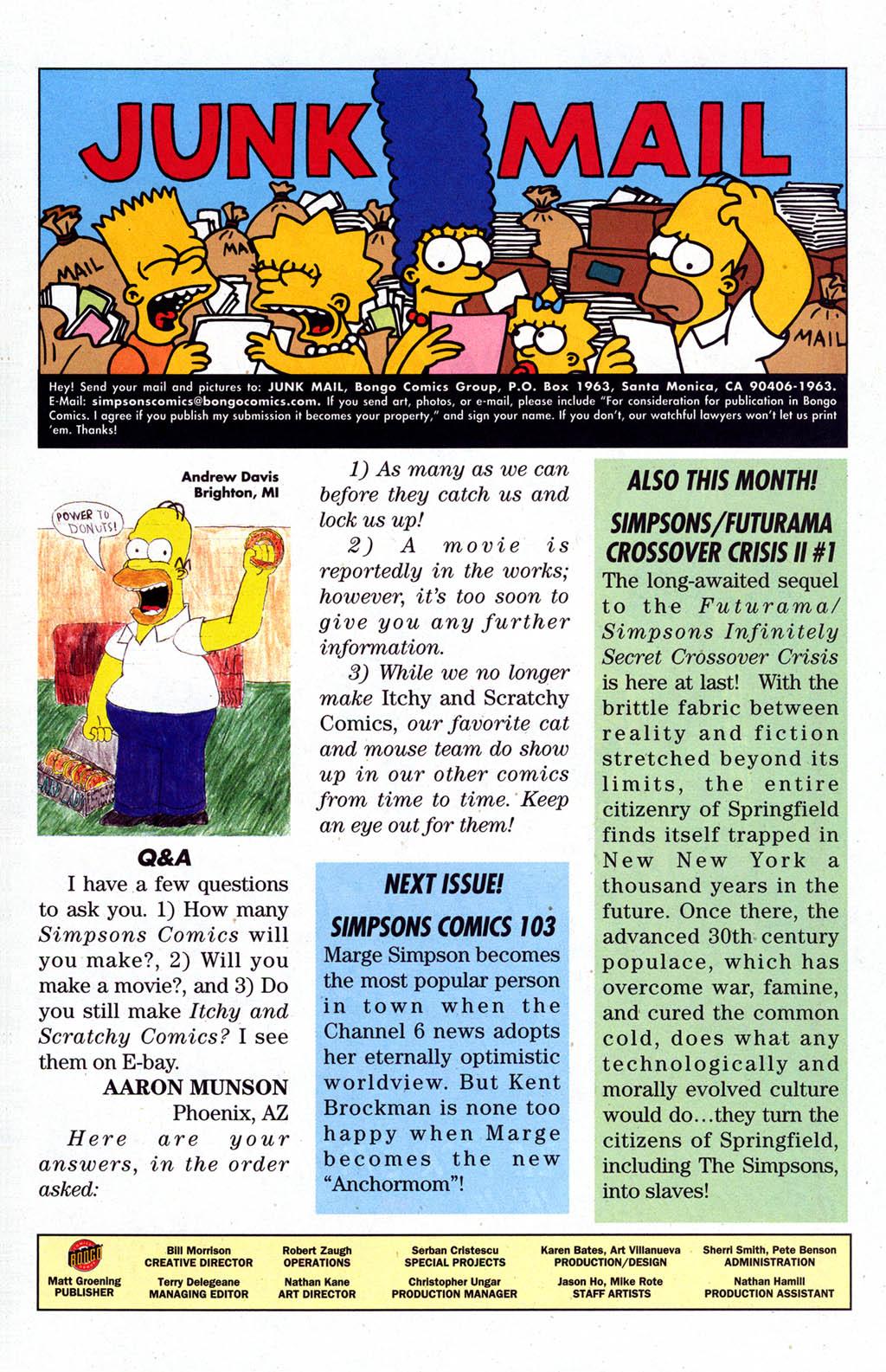 Read online Simpsons Comics comic -  Issue #102 - 29