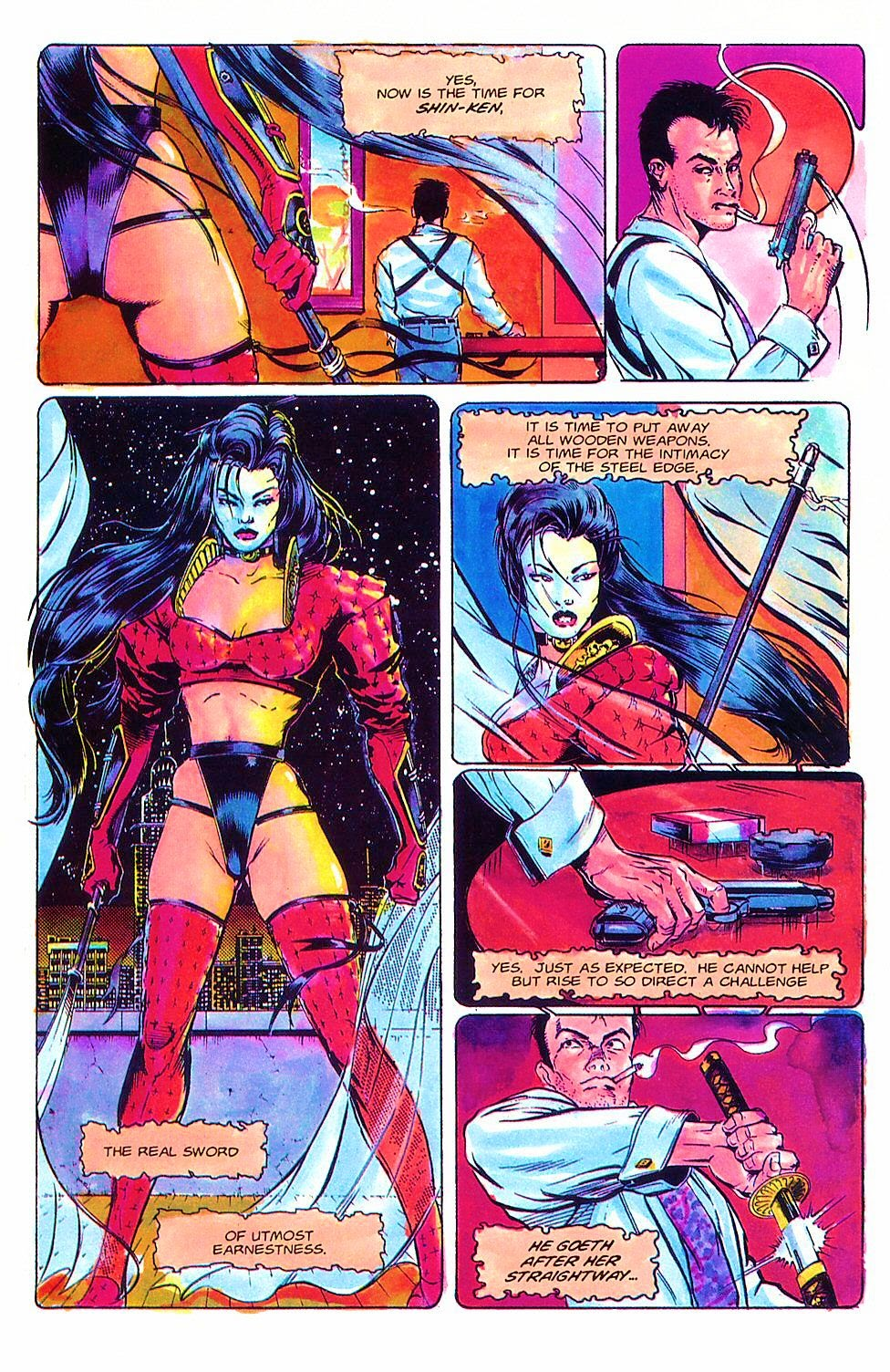Read online Shi: The Way of the Warrior comic -  Issue #2 - 23